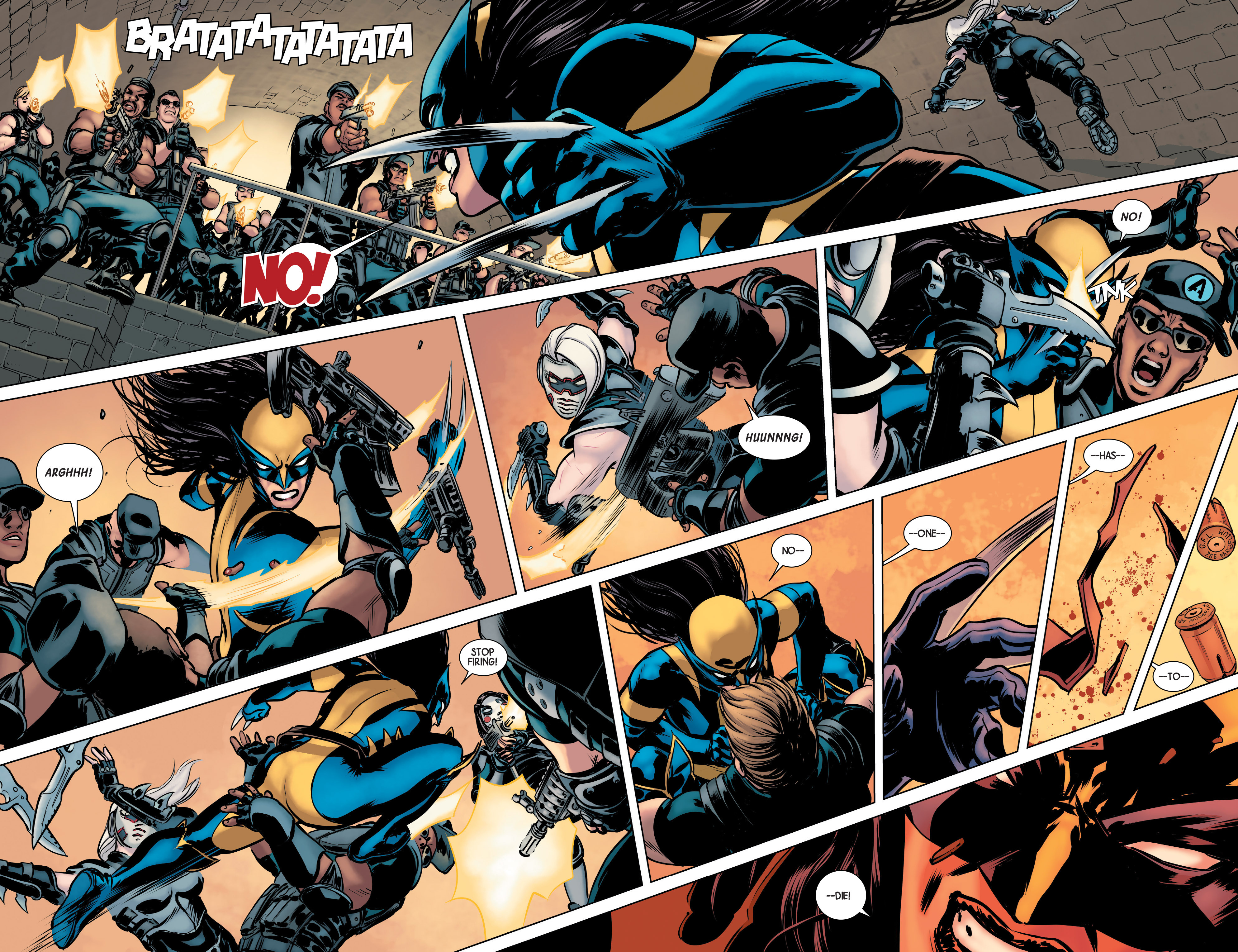Read online All-New Wolverine (2016) comic -  Issue #2 - 19