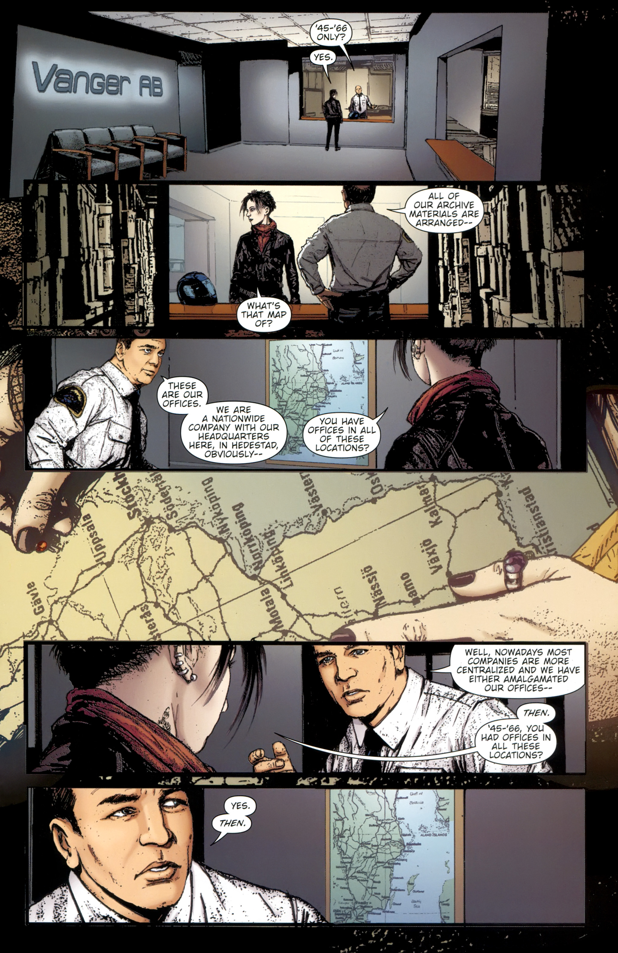 Read online The Girl With the Dragon Tattoo comic -  Issue # TPB 2 - 75