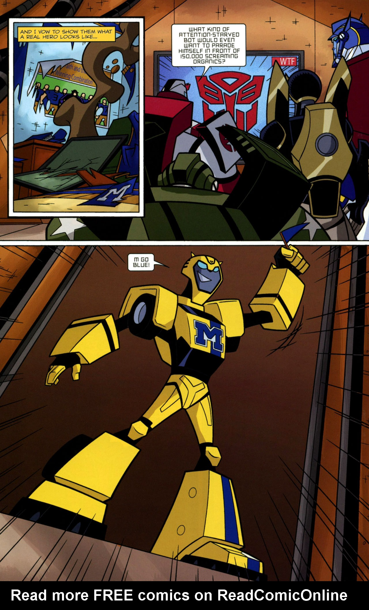 Read online Transformers Animated: The Arrival comic -  Issue #2 - 13