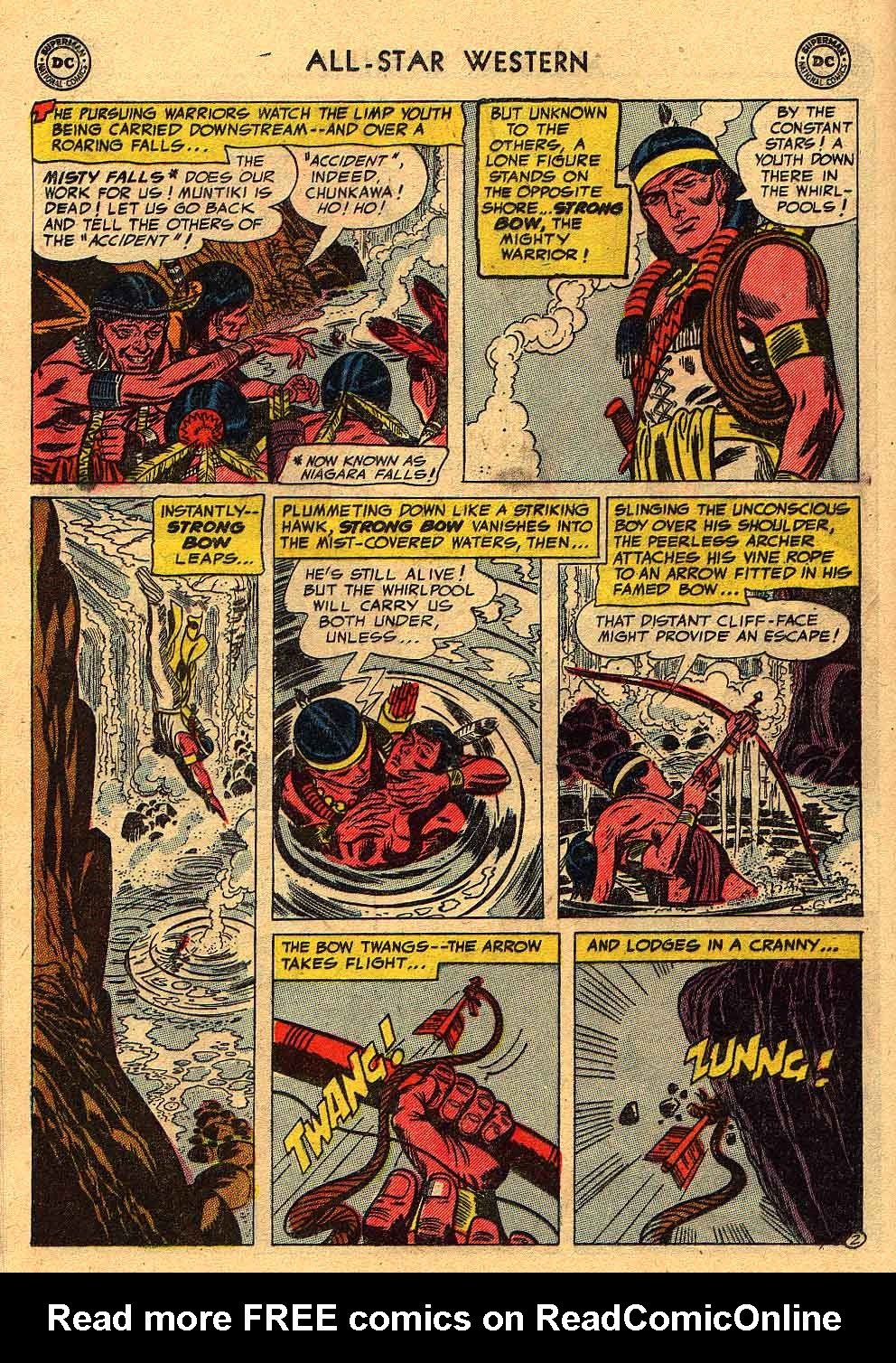 Read online All-Star Western (1951) comic -  Issue #80 - 12