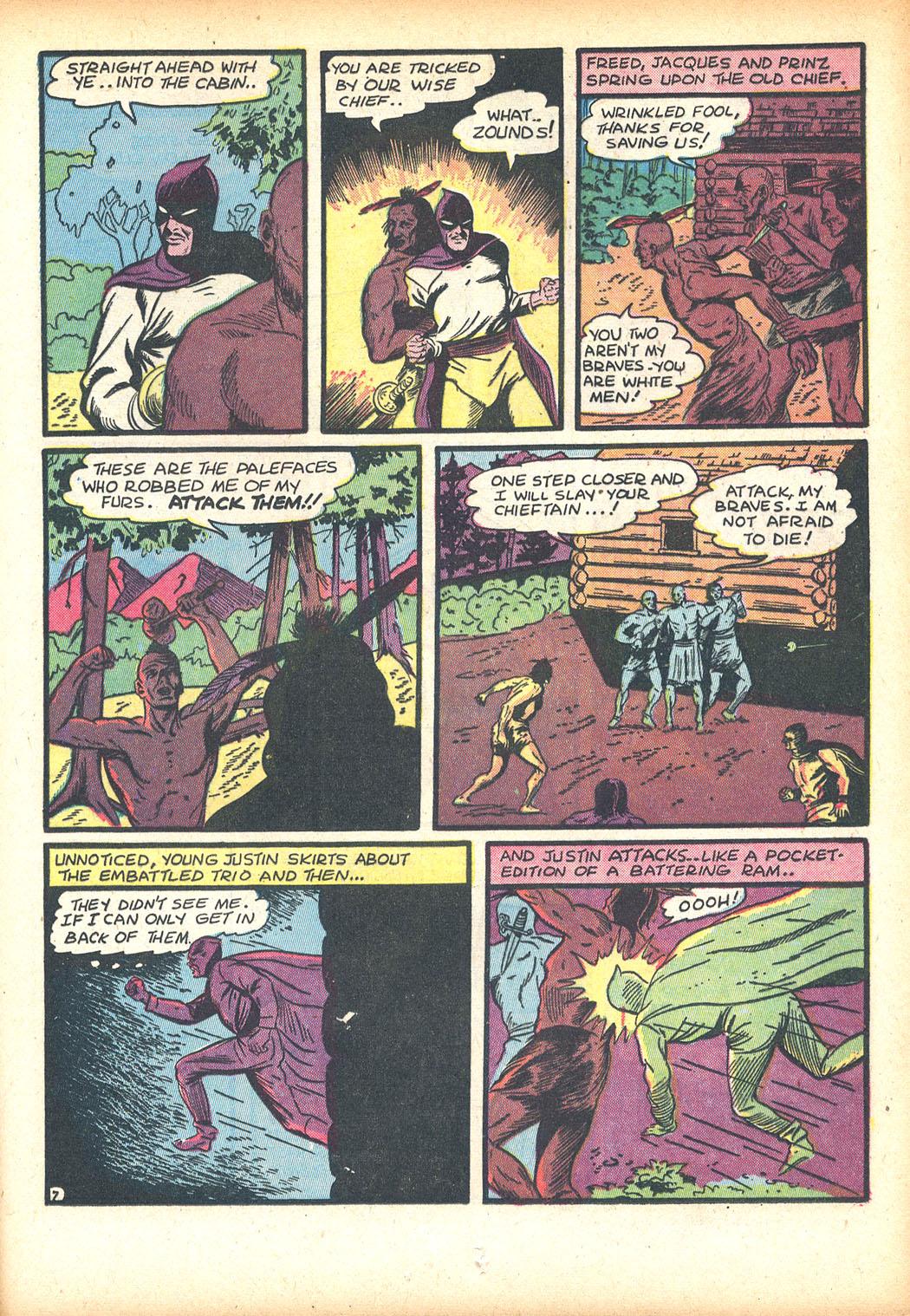 Read online Sensation (Mystery) Comics comic -  Issue #13 - 23