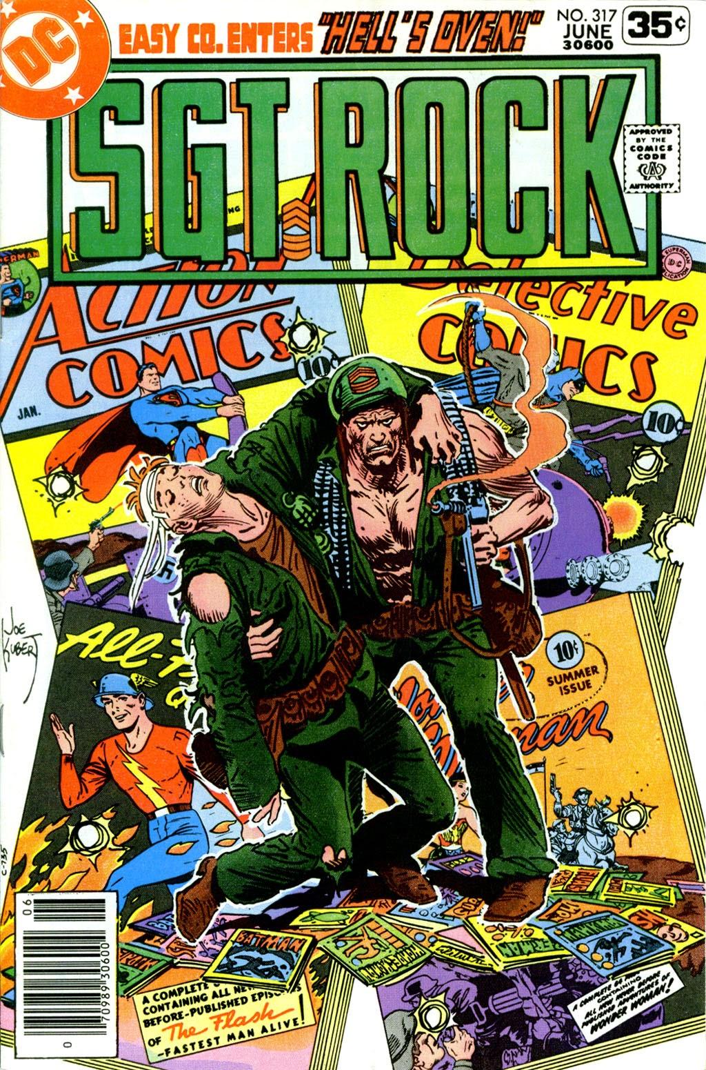 Read online Sgt. Rock comic -  Issue #317 - 1
