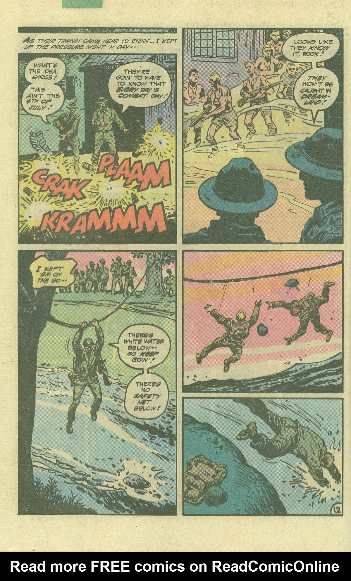 Read online Sgt. Rock comic -  Issue #392 - 12
