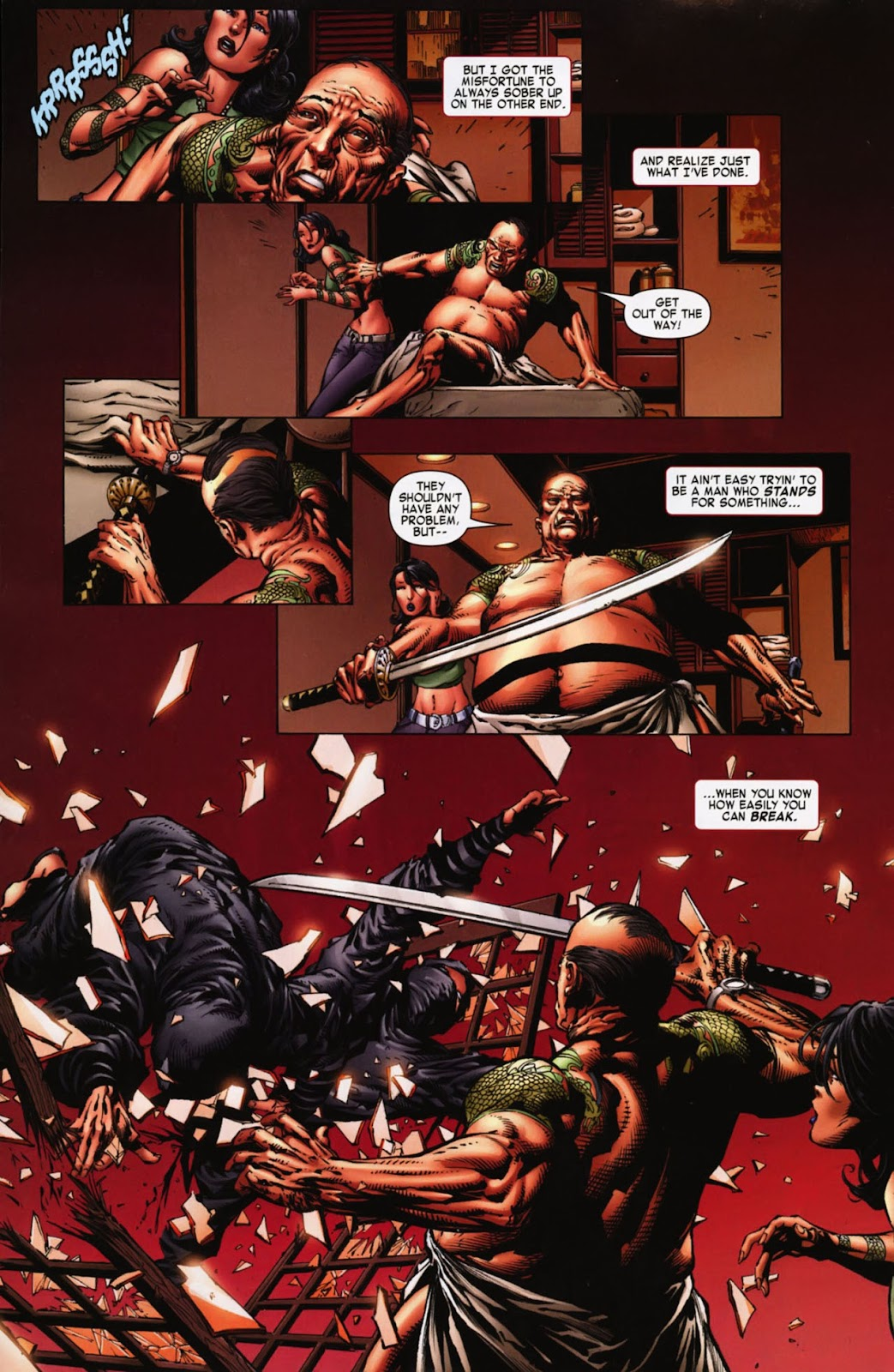 Read online Wolverine (2003) comic -  Issue #900 - 7