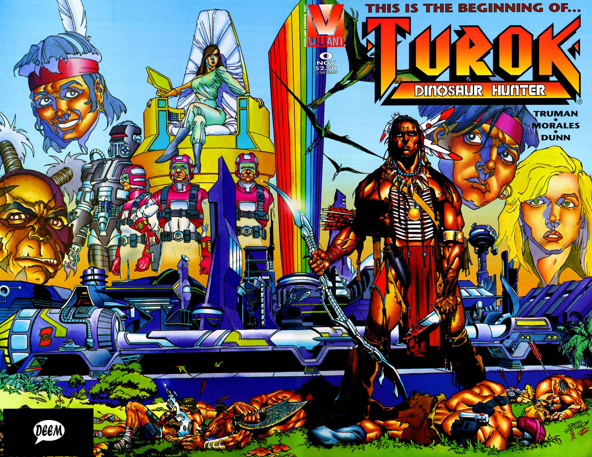 Read online Turok, Dinosaur Hunter (1993) comic -  Issue #0 - 1
