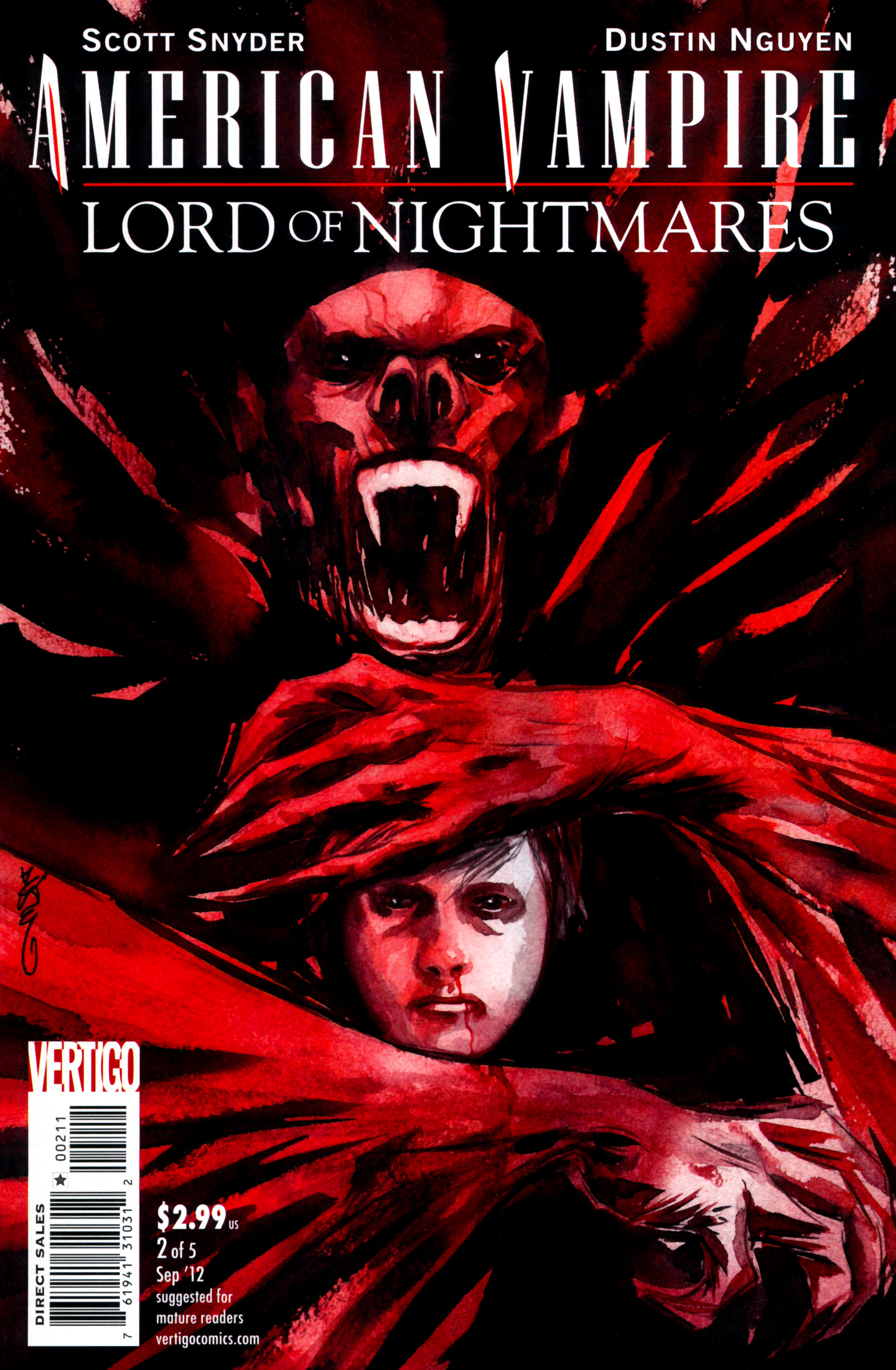 Read online American Vampire: Lord of Nightmares comic -  Issue #2 - 1