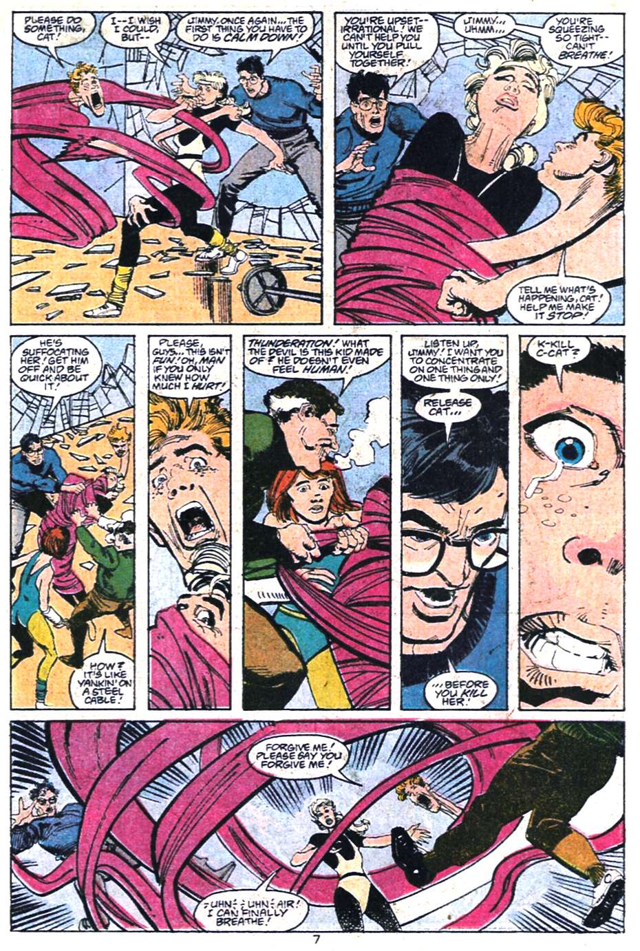 Read online Adventures of Superman (1987) comic -  Issue #458 - 8