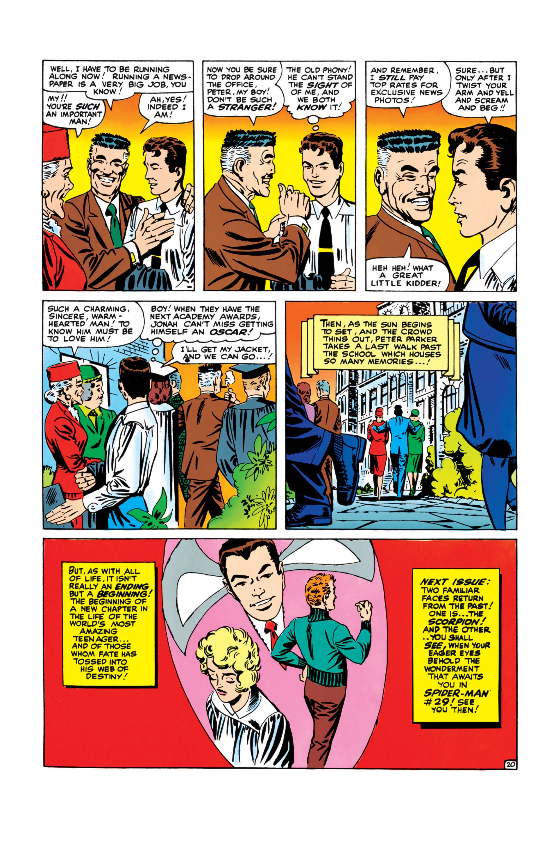 The Amazing Spider-Man (1963) 28 Page 20