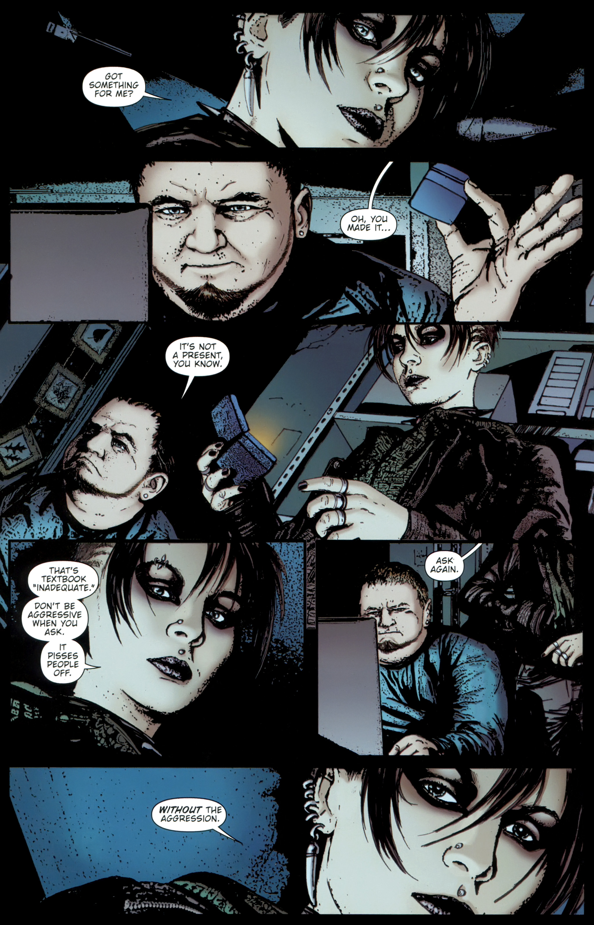 Read online The Girl With the Dragon Tattoo comic -  Issue # TPB 1 - 63