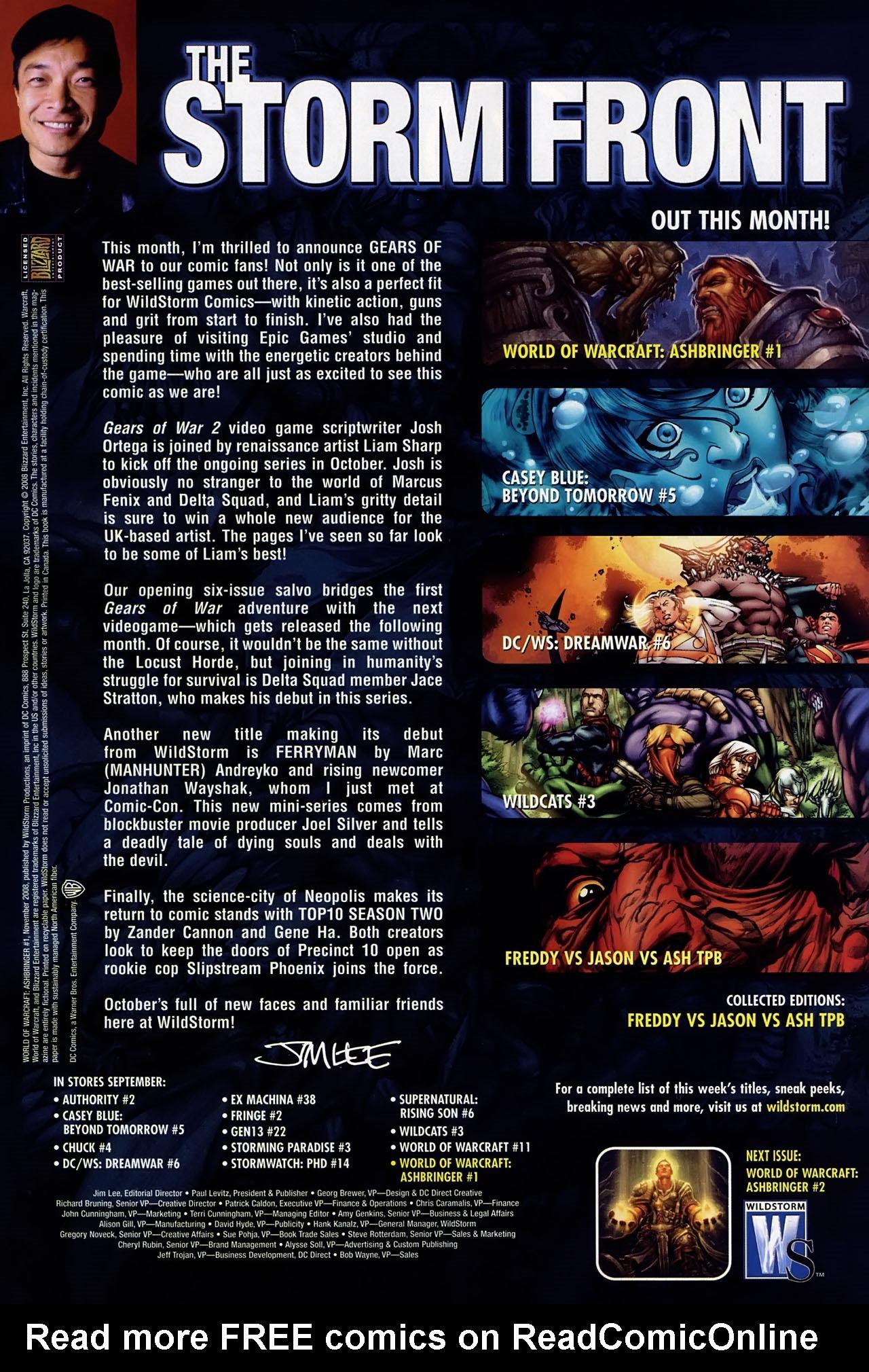 Read online World of Warcraft: Ashbringer comic -  Issue #1 - 29