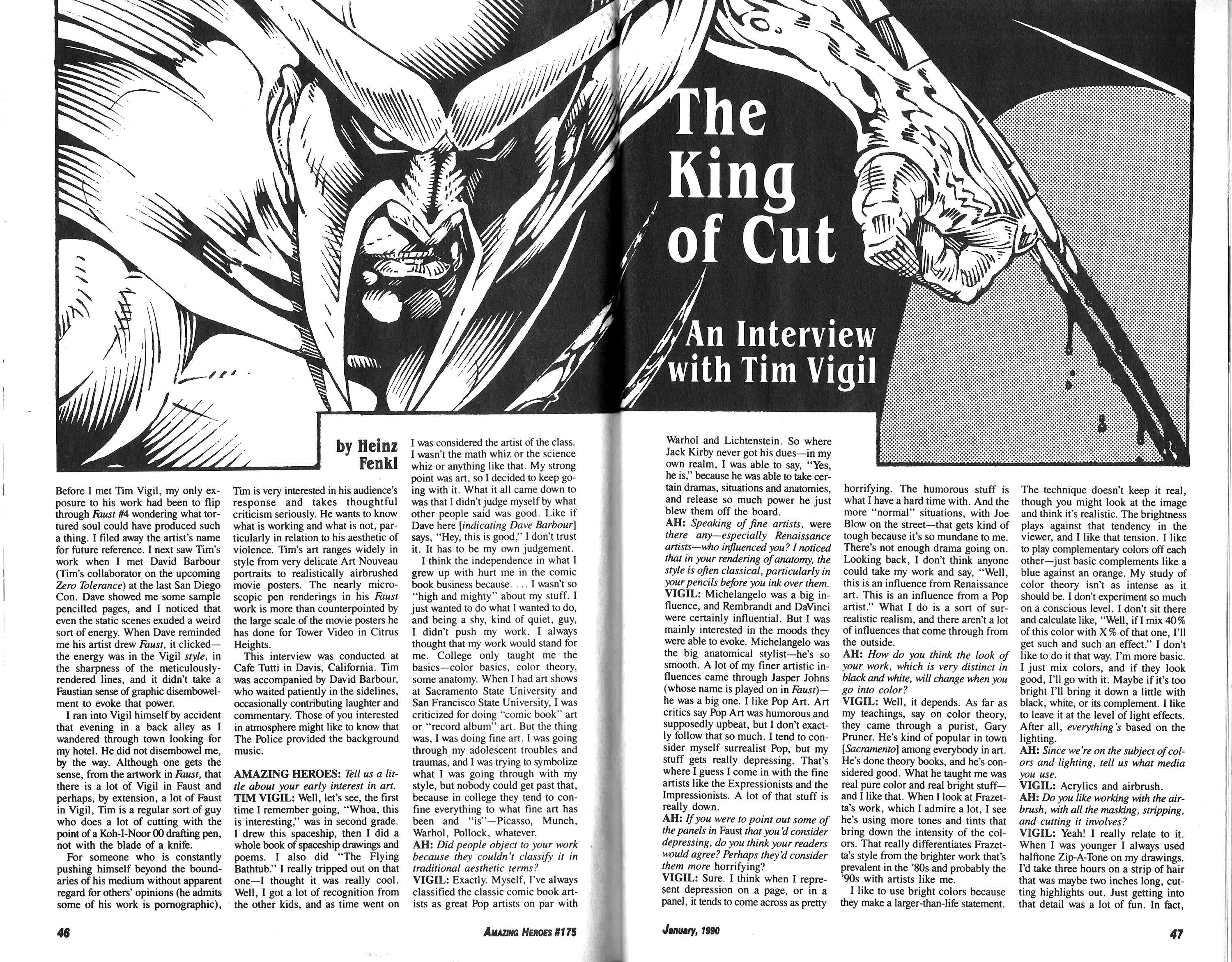 Read online Amazing Heroes comic -  Issue #175 - 24