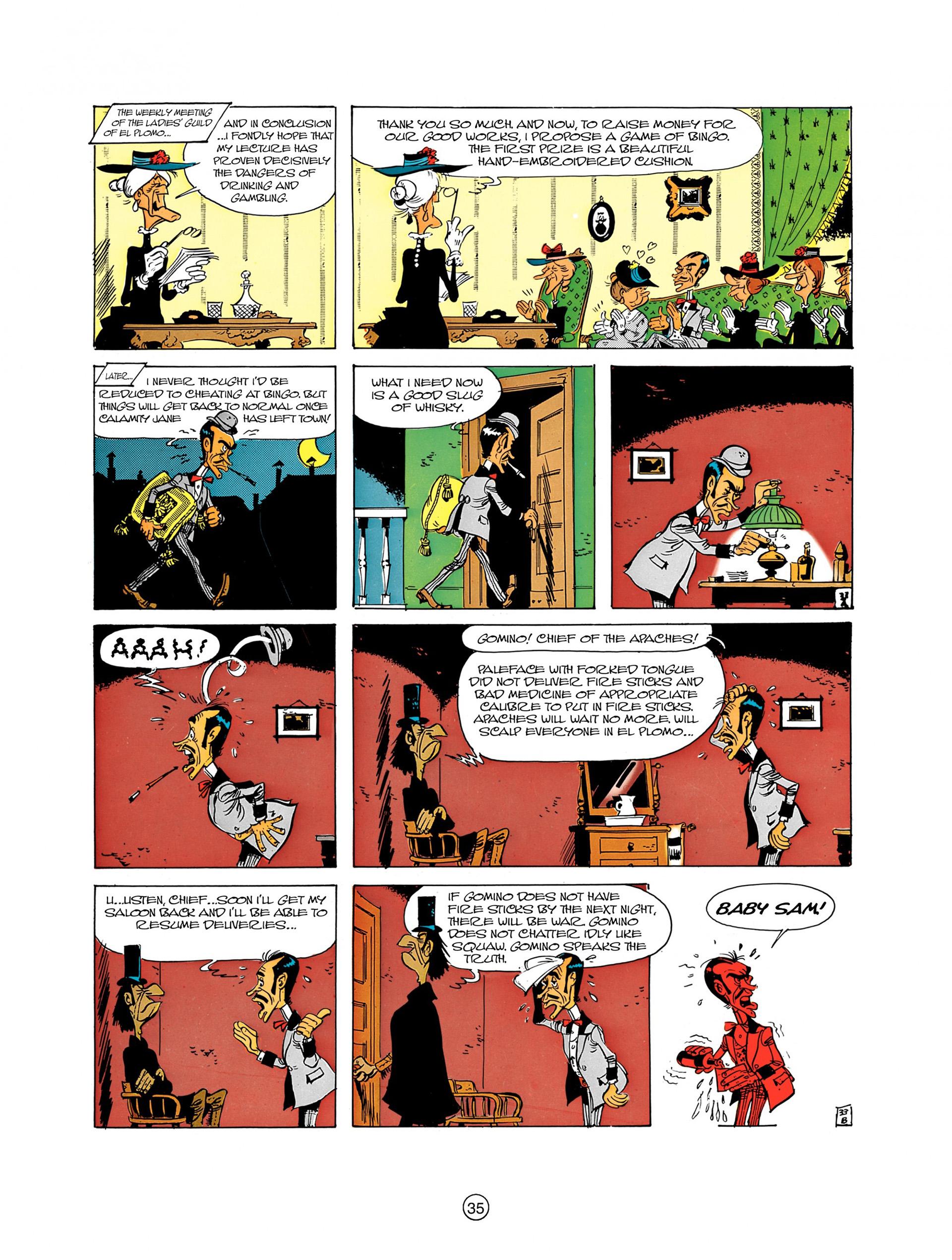Read online A Lucky Luke Adventure comic -  Issue #8 - 35