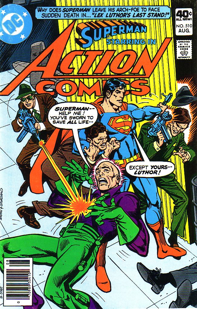 Action Comics (1938) 510 Page 1