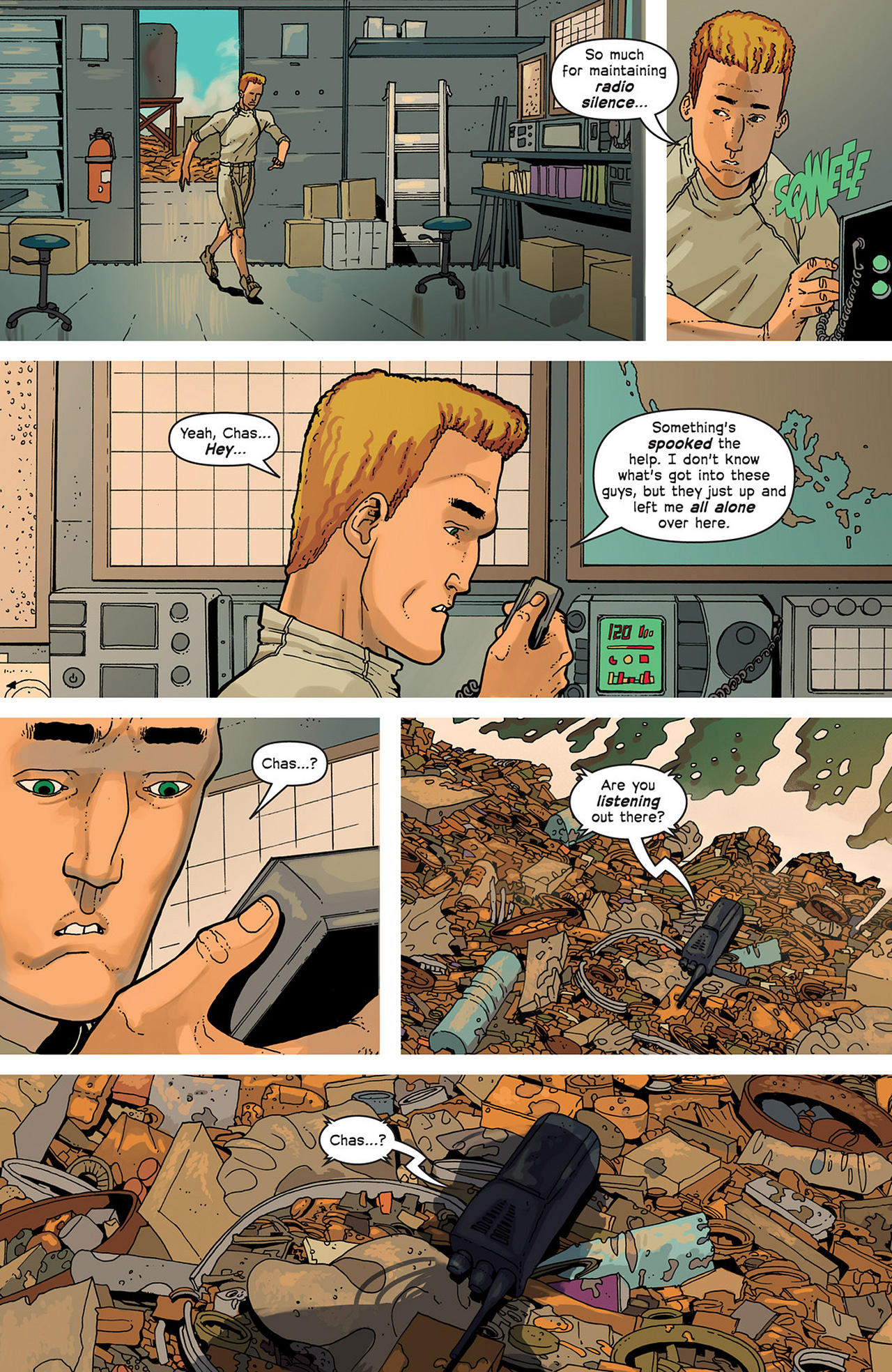 Read online Great Pacific comic -  Issue #2 - 13