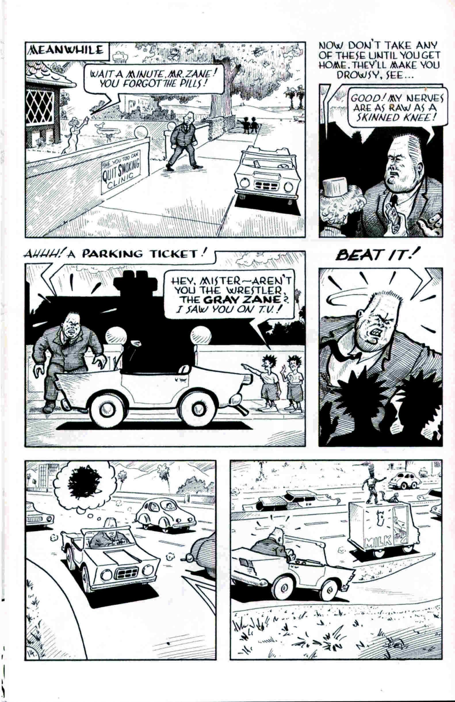Read online Flaming Carrot & Reid Fleming, World's Toughest Milkman comic -  Issue # Full - 14