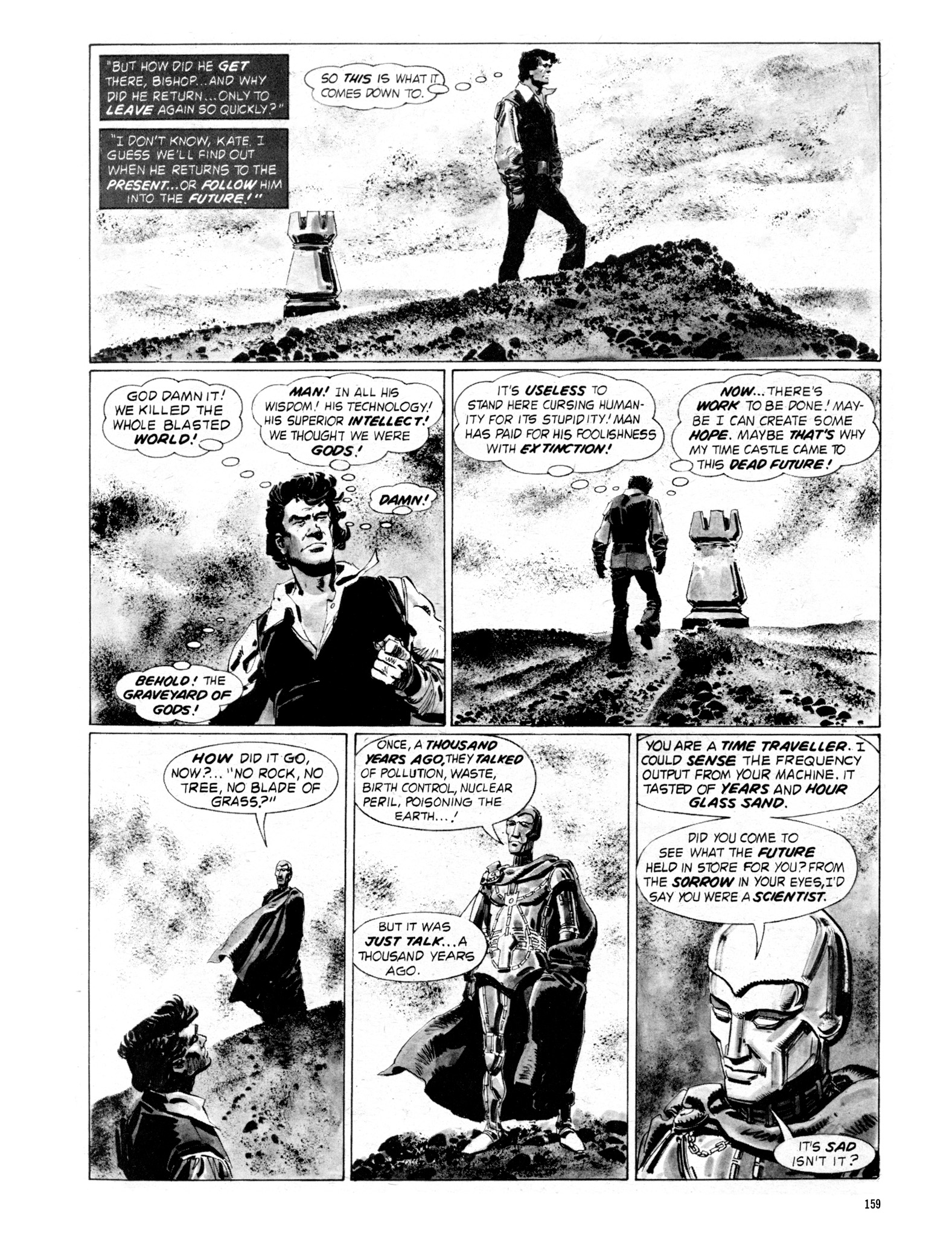 Read online Eerie Archives comic -  Issue # TPB 18 - 156