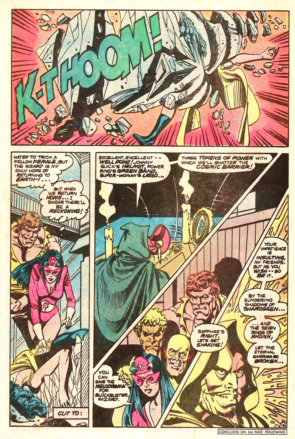 Read online Secret Society of Super-Villains comic -  Issue #13 - 17