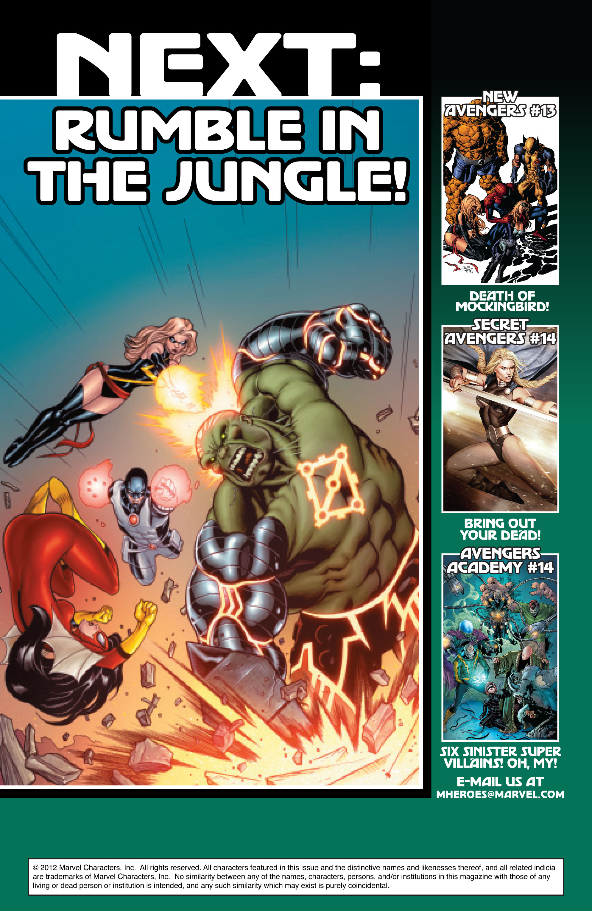 Read online Avengers (2010) comic -  Issue #14 - 20