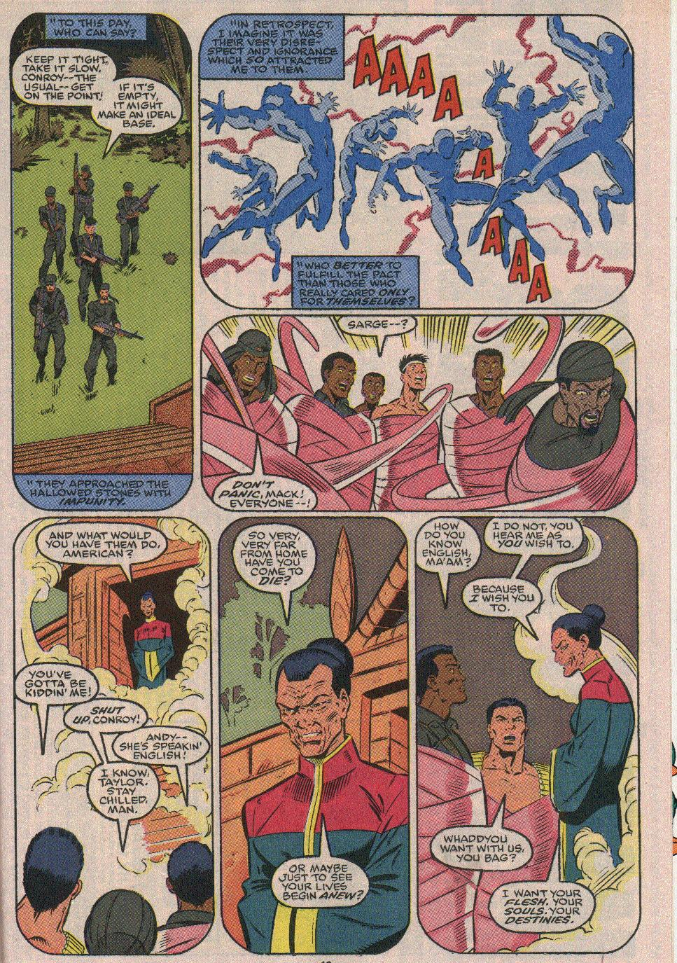 The New Warriors Issue #23 #27 - English 15