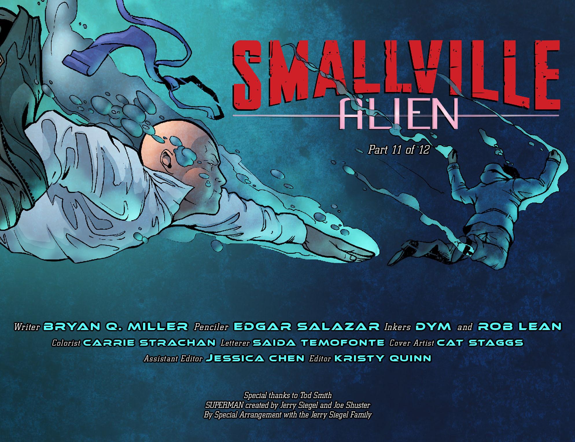 Read online Smallville: Alien comic -  Issue #11 - 2