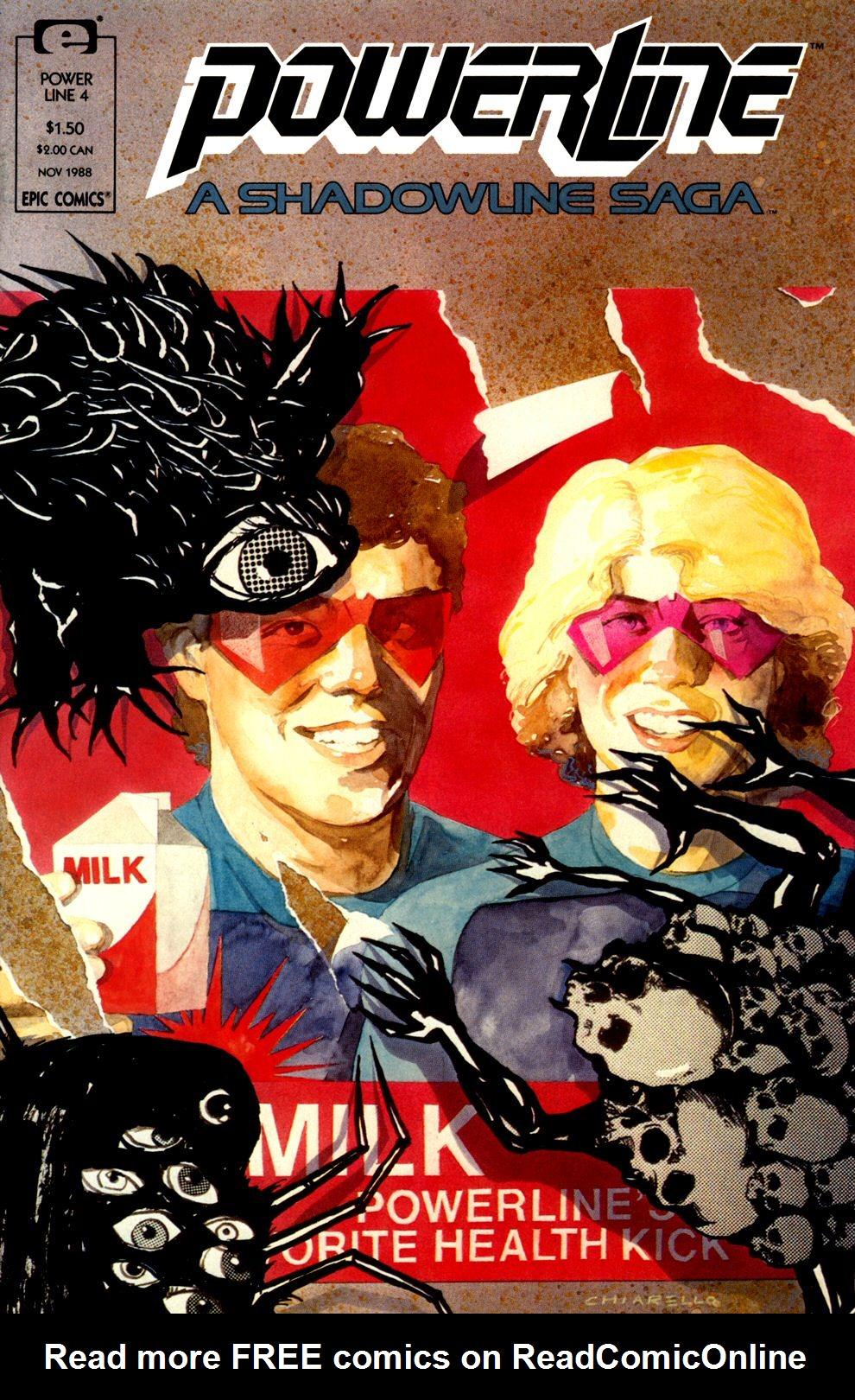 Read online Powerline comic -  Issue #4 - 1