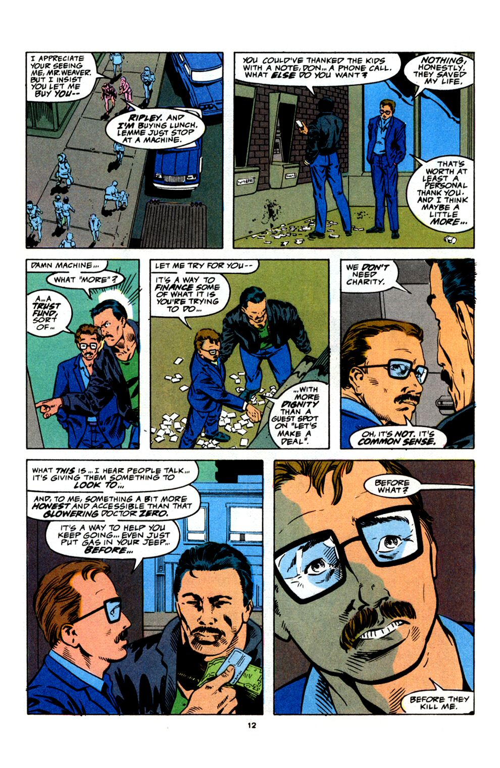 Read online Powerline comic -  Issue #4 - 14