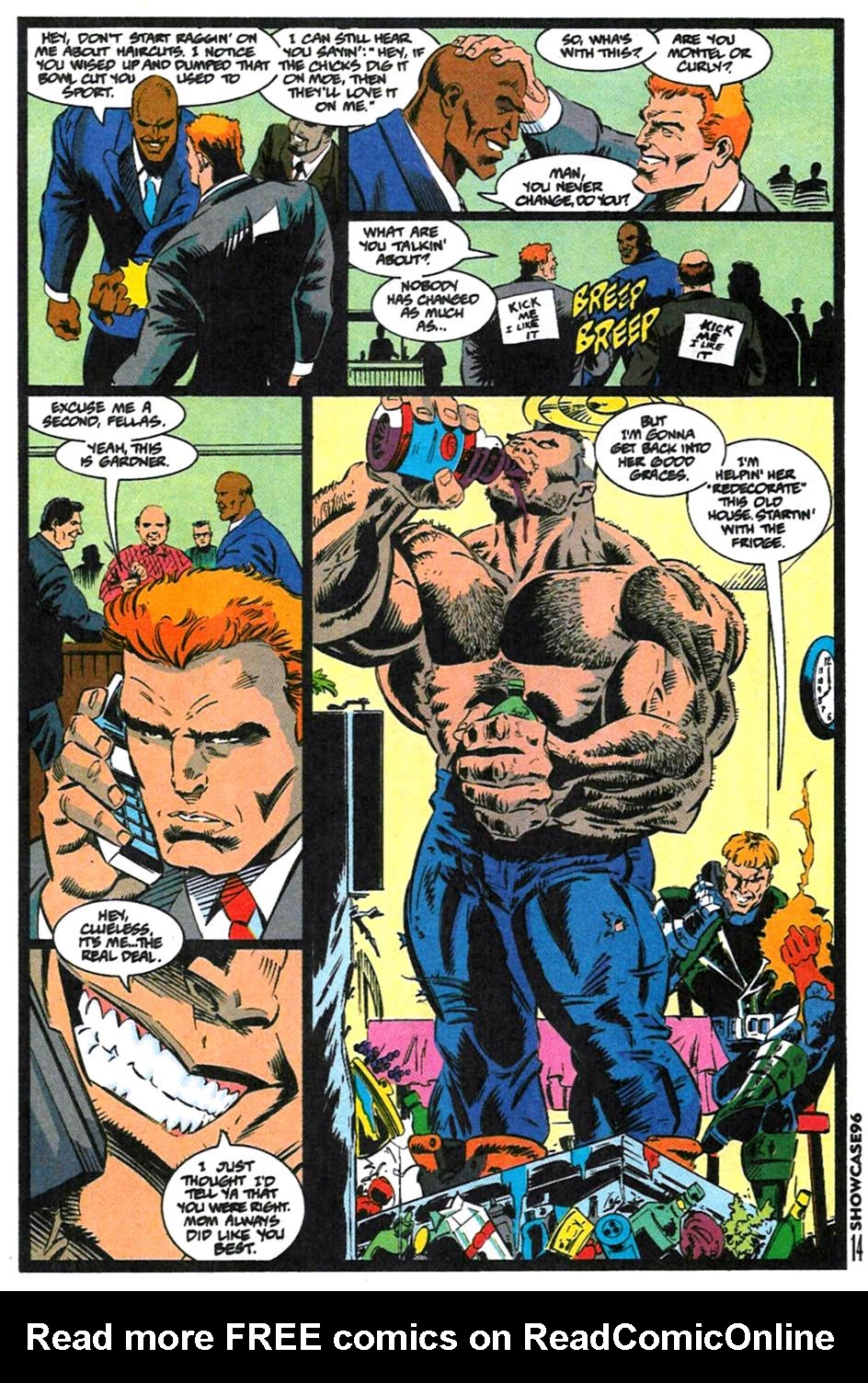 Read online Showcase '96 comic -  Issue #1 - 14