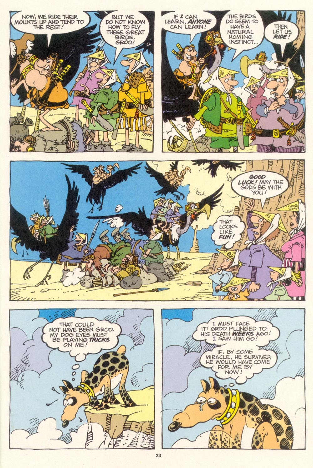 Read online Sergio Aragonés Groo the Wanderer comic -  Issue #115 - 25