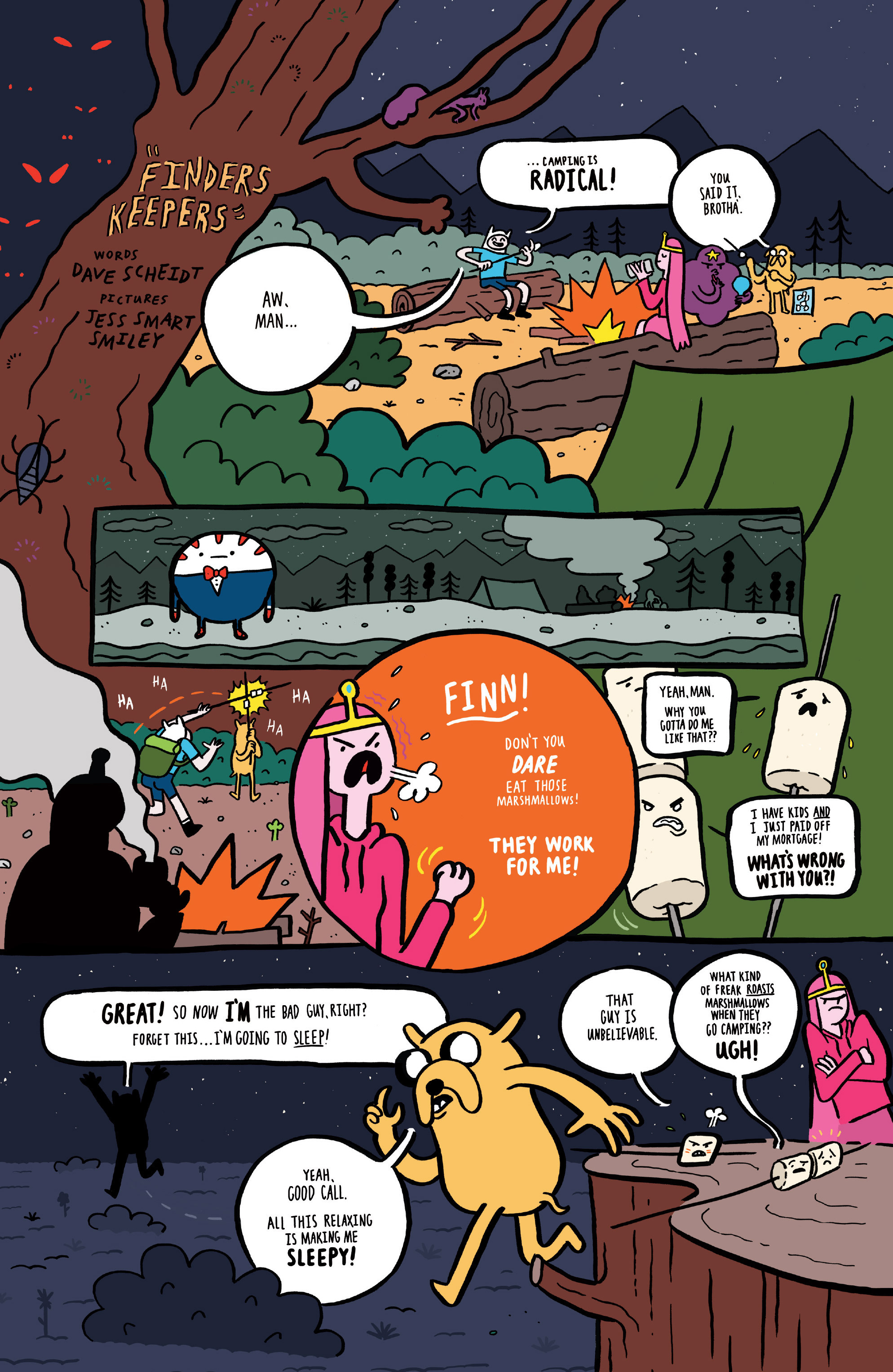 Read online Adventure Time comic -  Issue #45 - 27