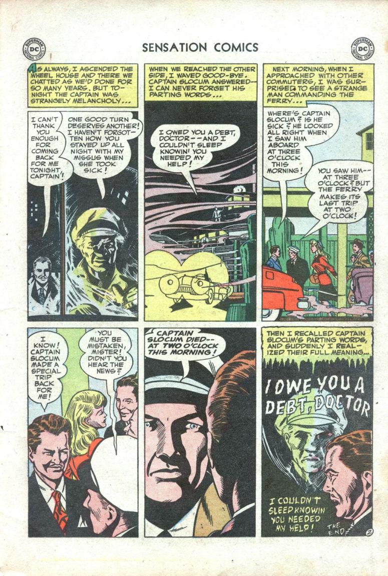 Read online Sensation (Mystery) Comics comic -  Issue #109 - 23