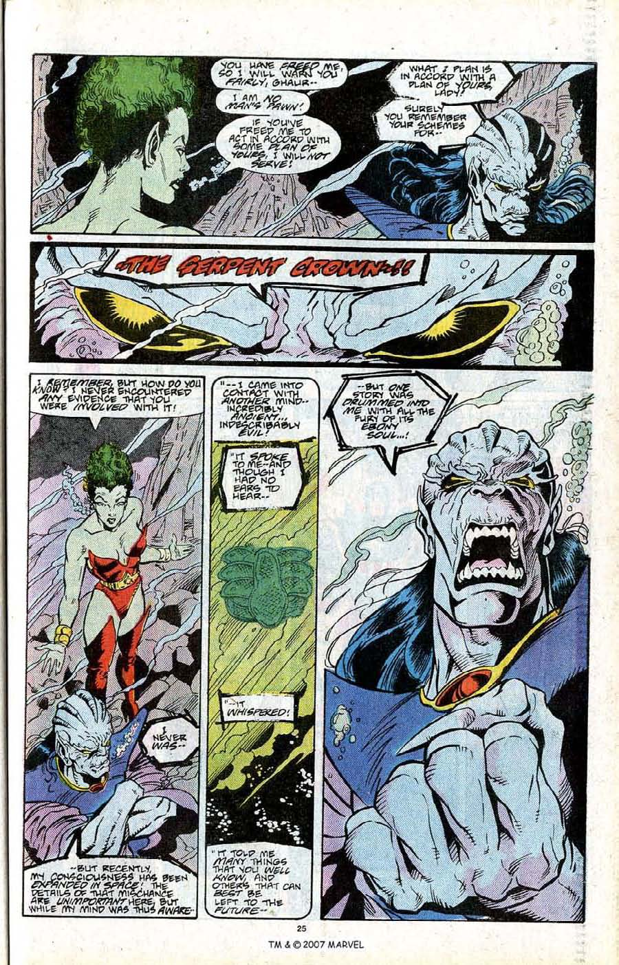 Read online Silver Surfer (1987) comic -  Issue # _Annual 2 - 27