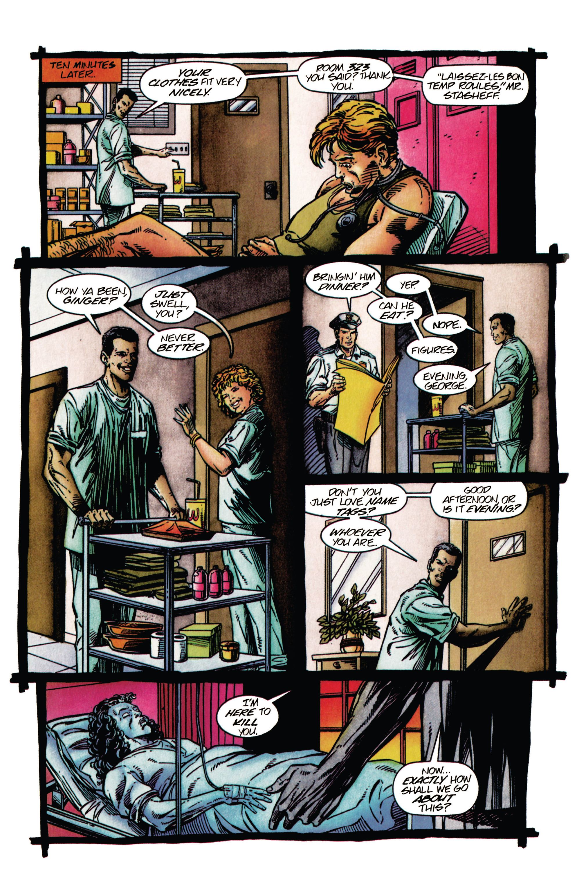 Read online Shadowman (1992) comic -  Issue #27 - 15