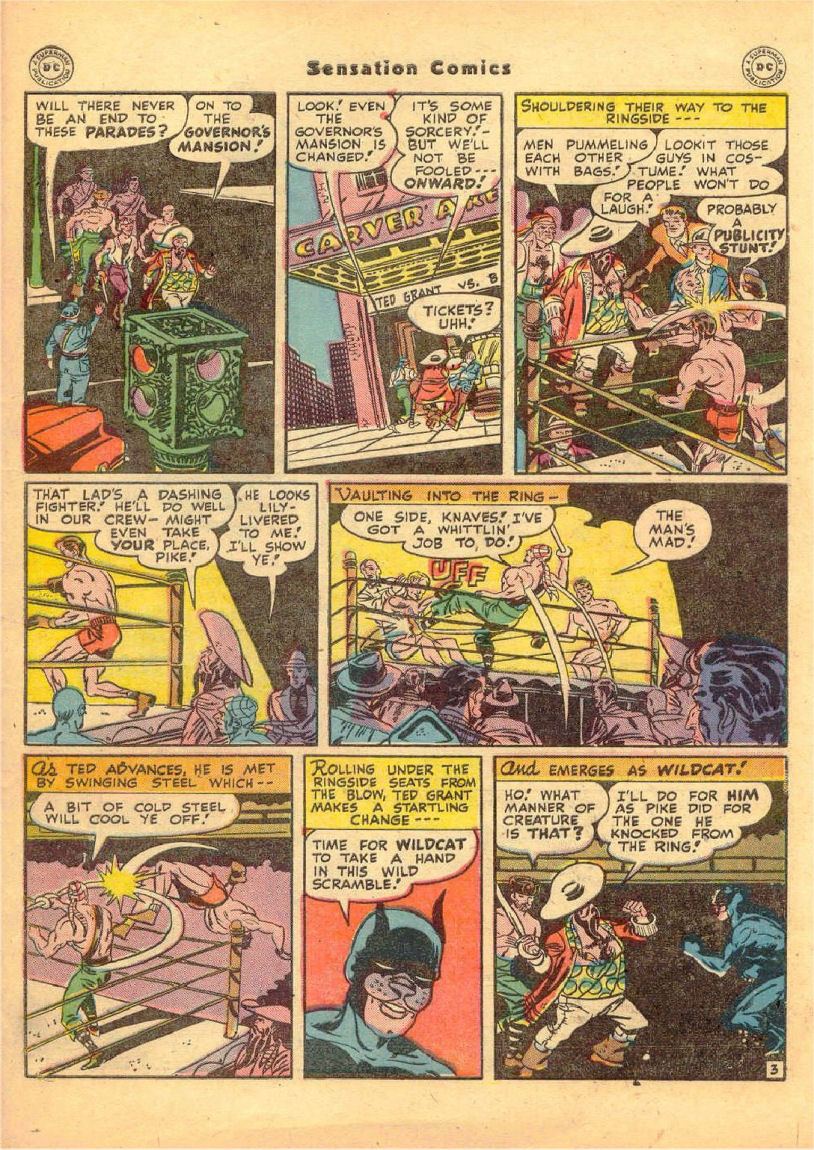 Read online Sensation (Mystery) Comics comic -  Issue #70 - 44