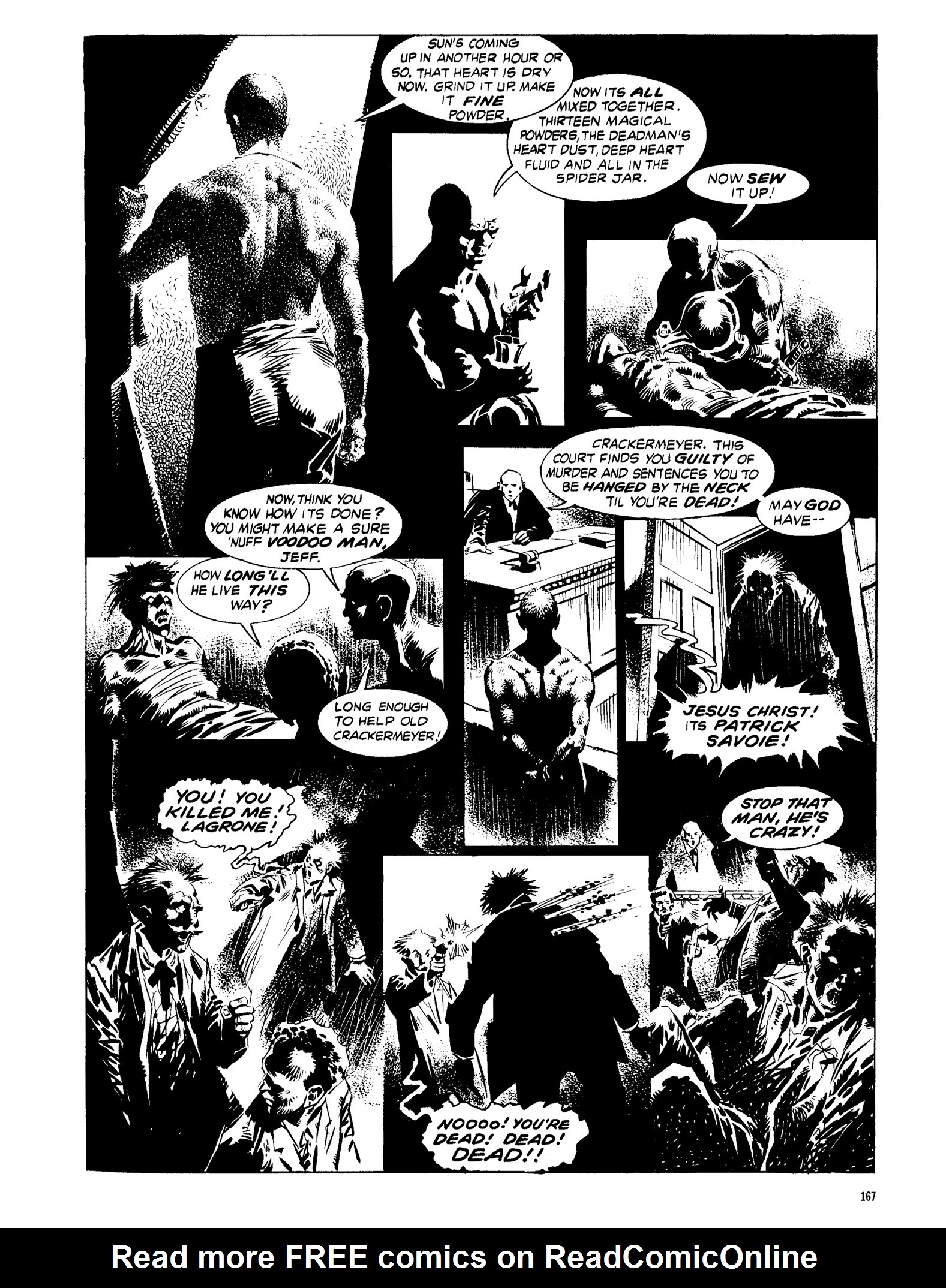 Read online Eerie Archives comic -  Issue # TPB 13 - 168
