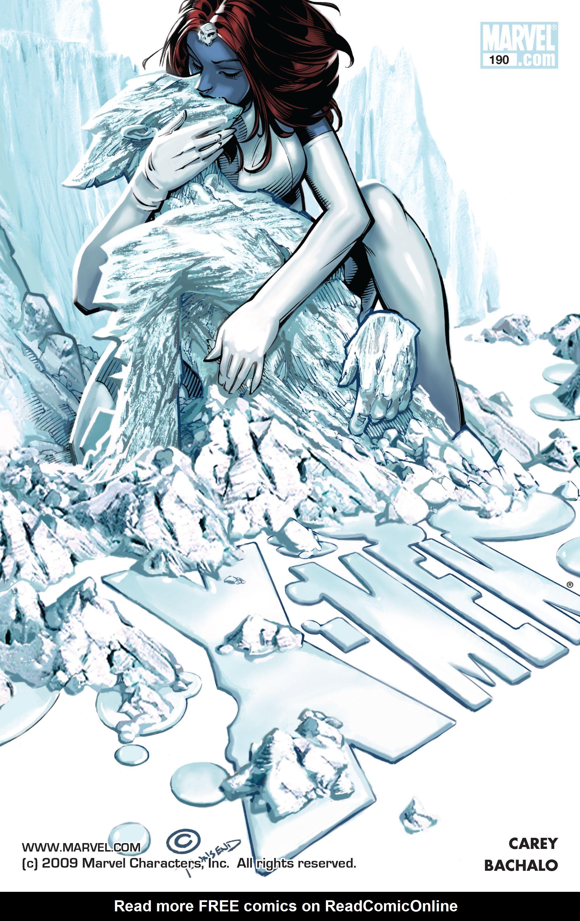 X-Men (1991) 190 Page 0
