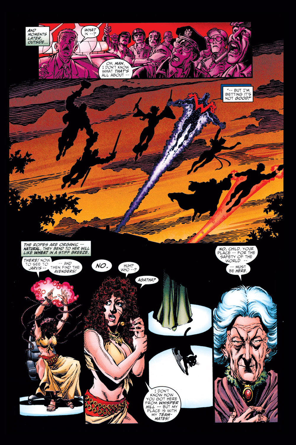Read online Avengers (1998) comic -  Issue #11 - 11