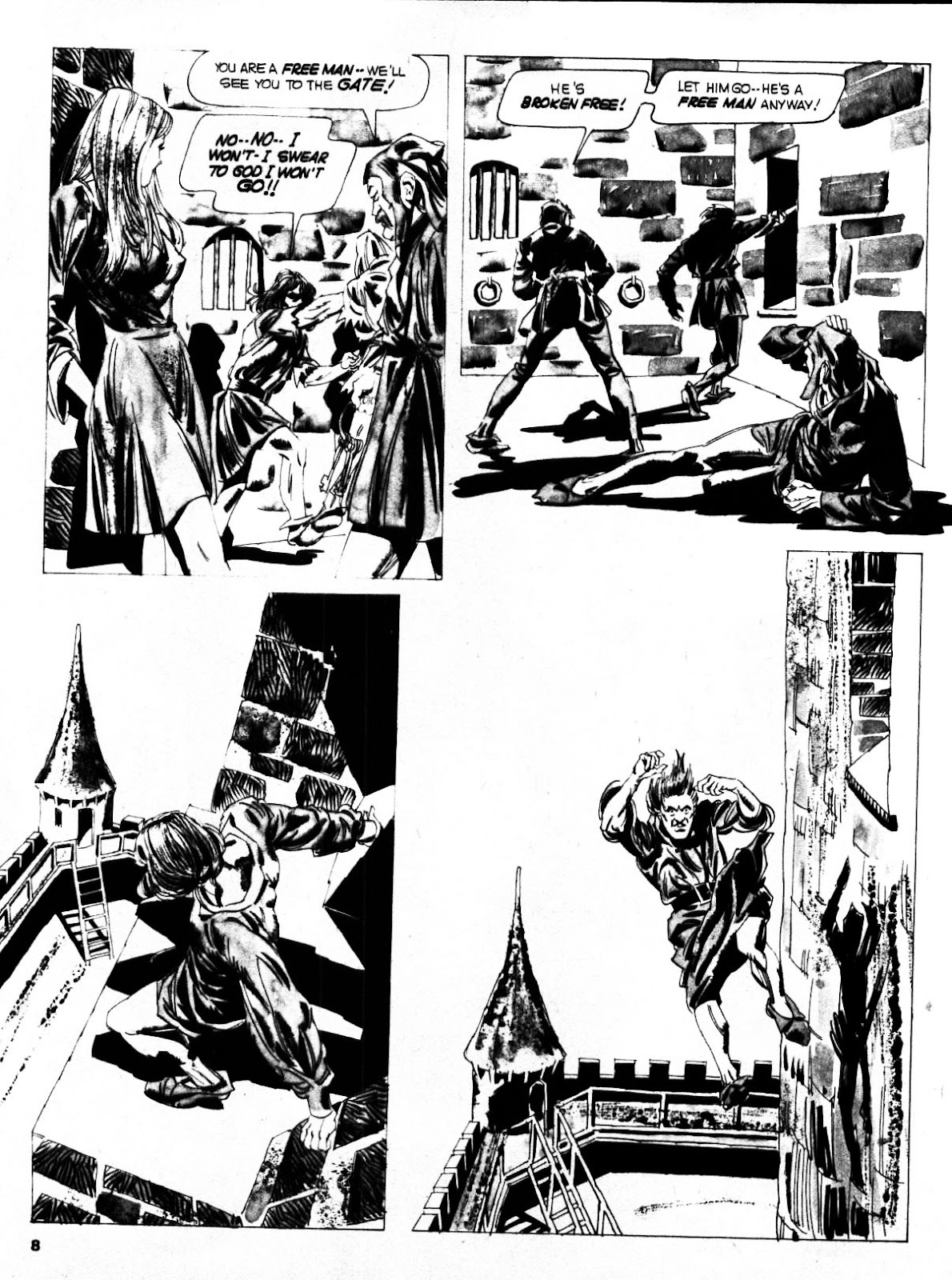 Nightmare (1970) issue 21 - Page 8