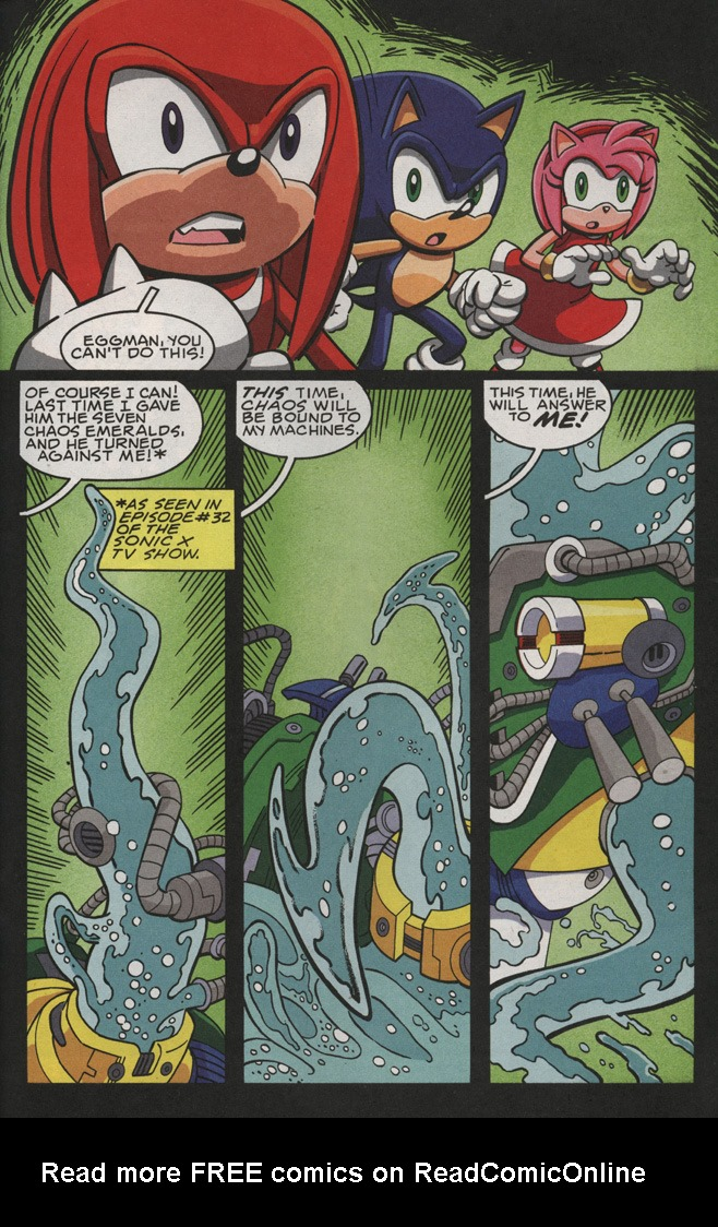 Read online Sonic X comic -  Issue #28 - 33