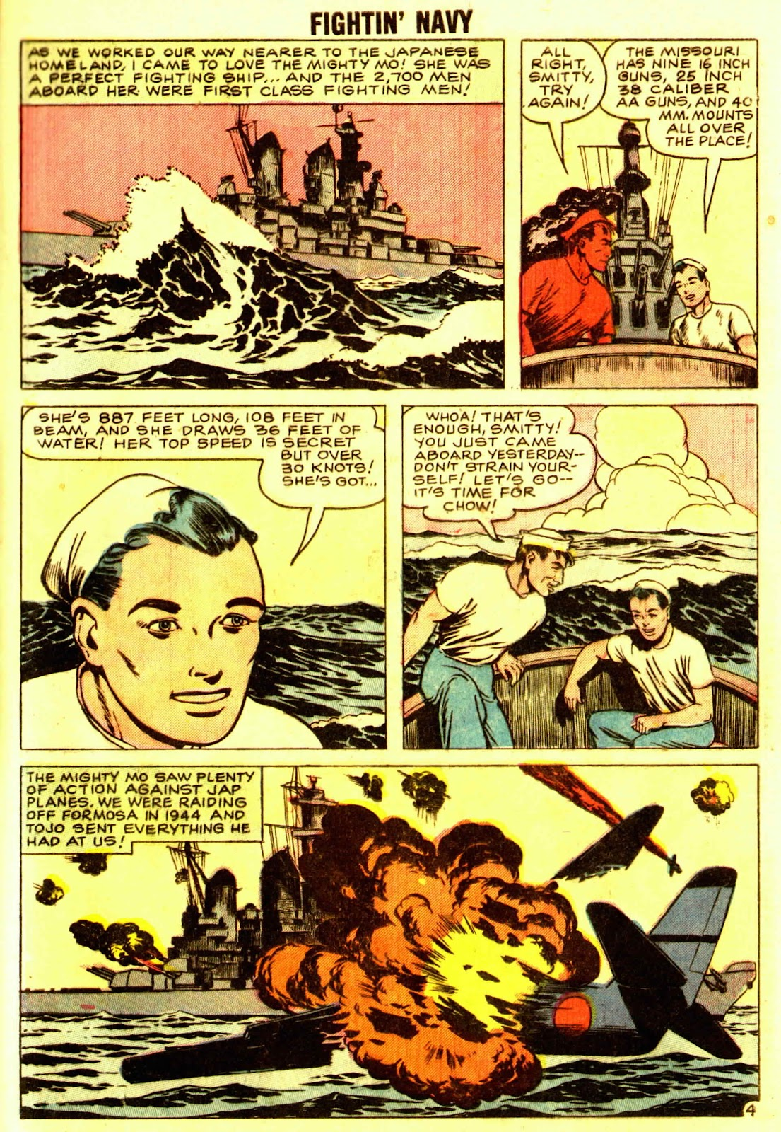 Read online Fightin' Navy comic -  Issue #83 - 63
