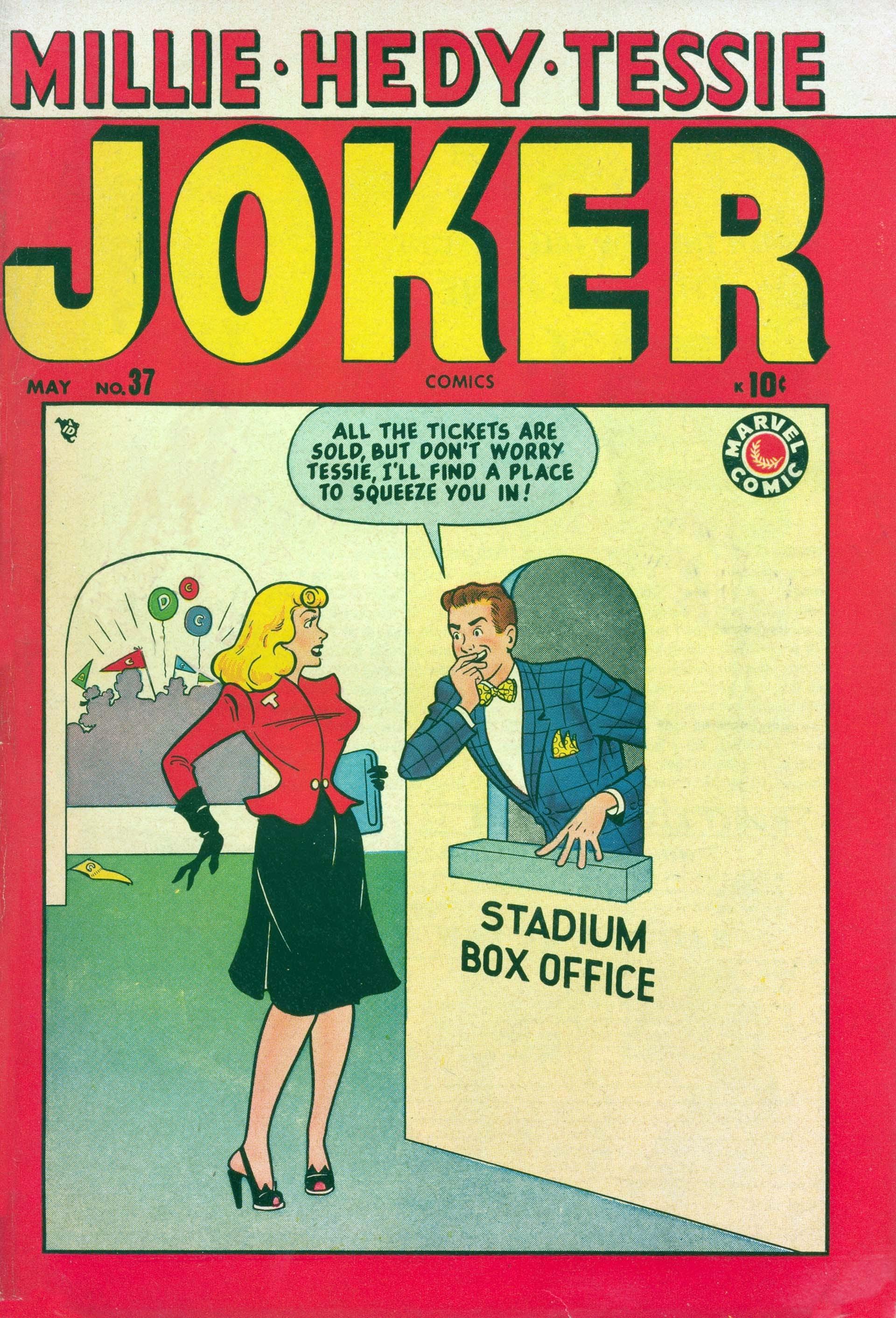 Joker Comics issue 37 - Page 1