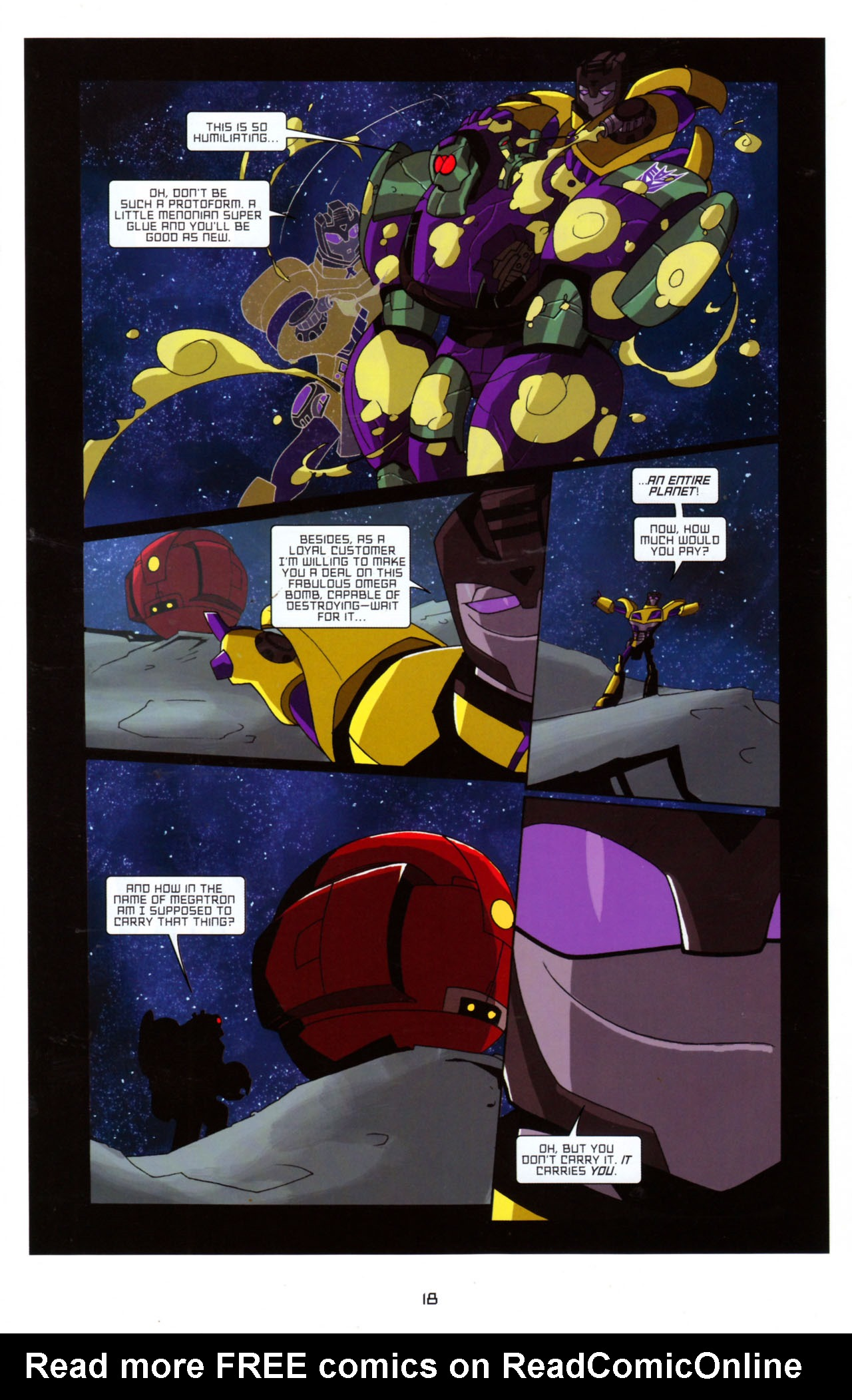 Read online Transformers Animated: The Arrival comic -  Issue #5 - 22