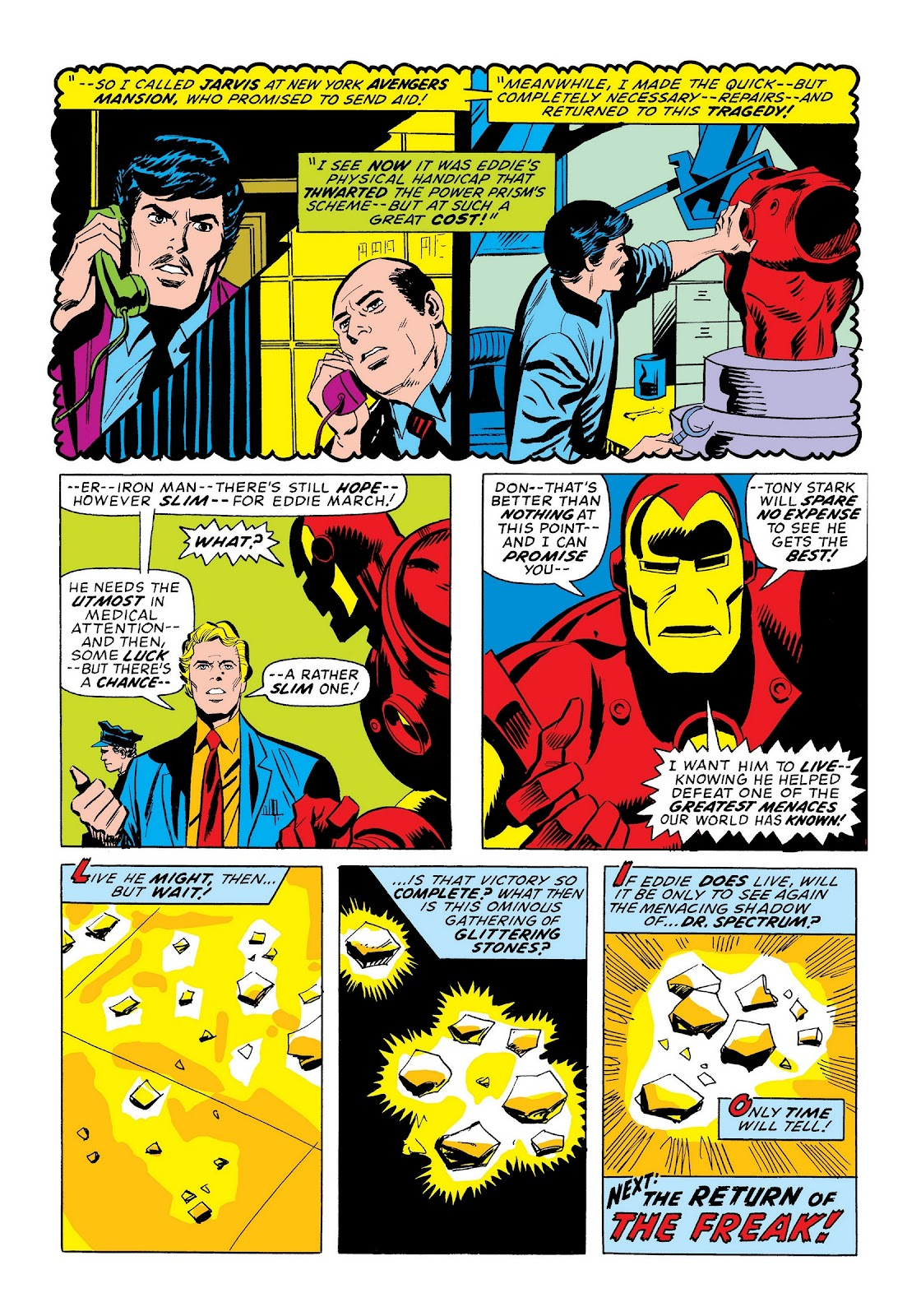 Read online Marvel Masterworks: The Invincible Iron Man comic -  Issue # TPB 9 (Part 3) - 72