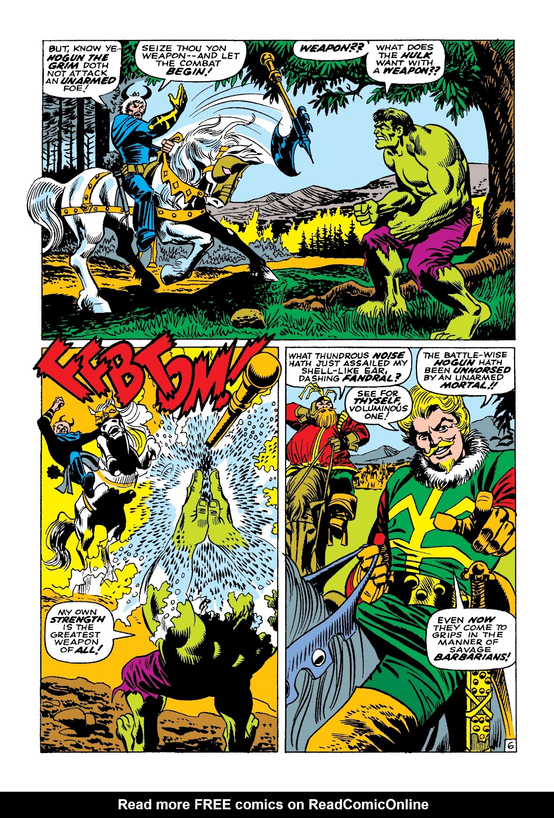Read online Marvel Masterworks: The Incredible Hulk comic -  Issue # TPB 3 (Part 3) - 57