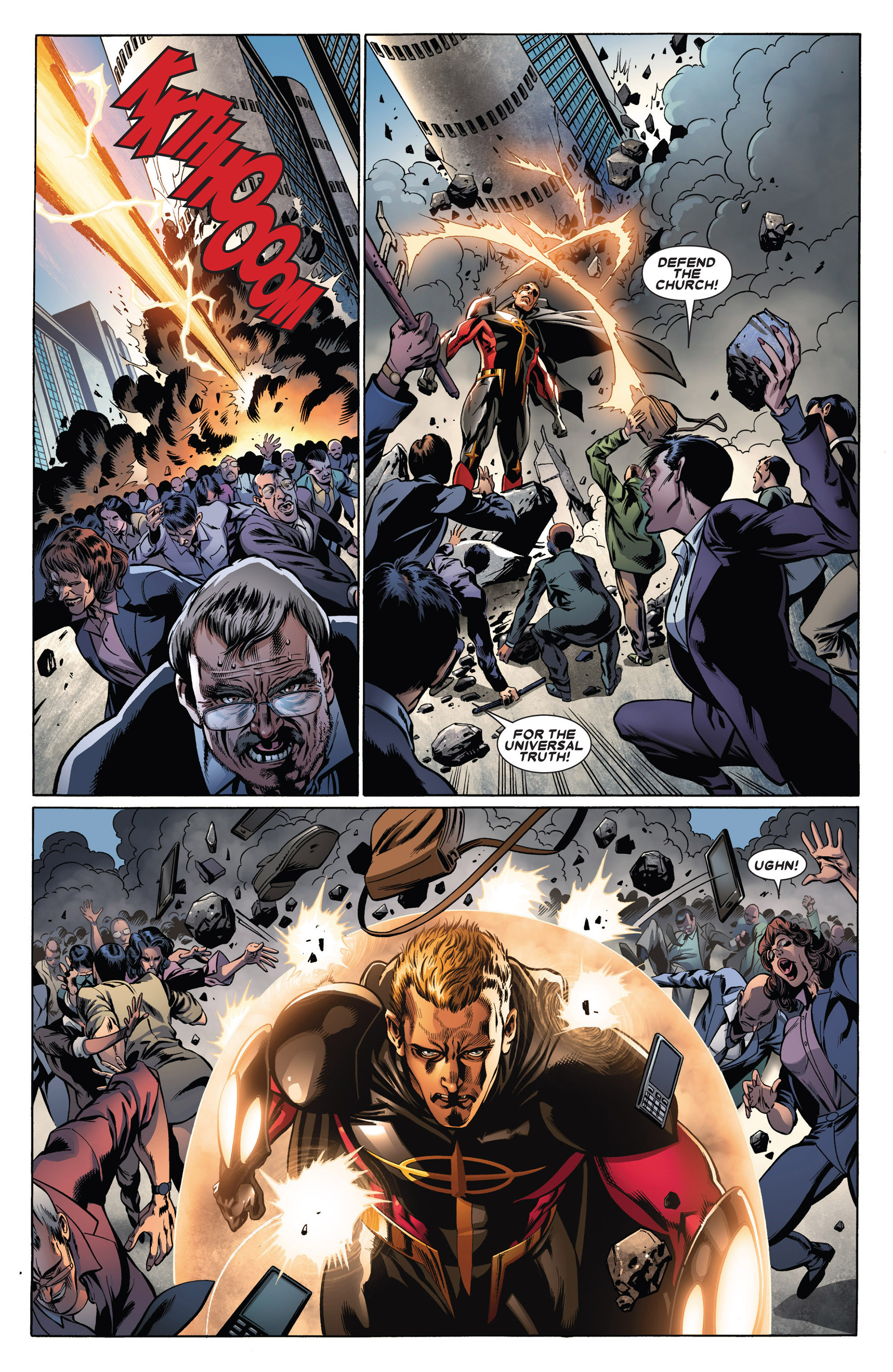 Read online Annihilators: Earthfall comic -  Issue #1 - 15