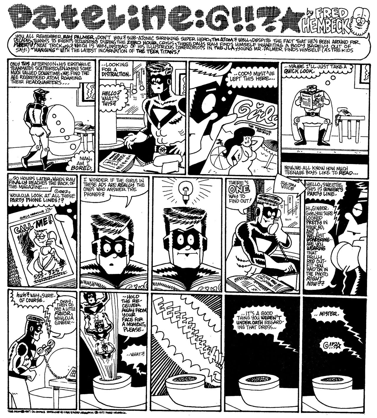 Read online The Nearly Complete Essential Hembeck Archives Omnibus comic -  Issue # TPB (Part 7) - 32