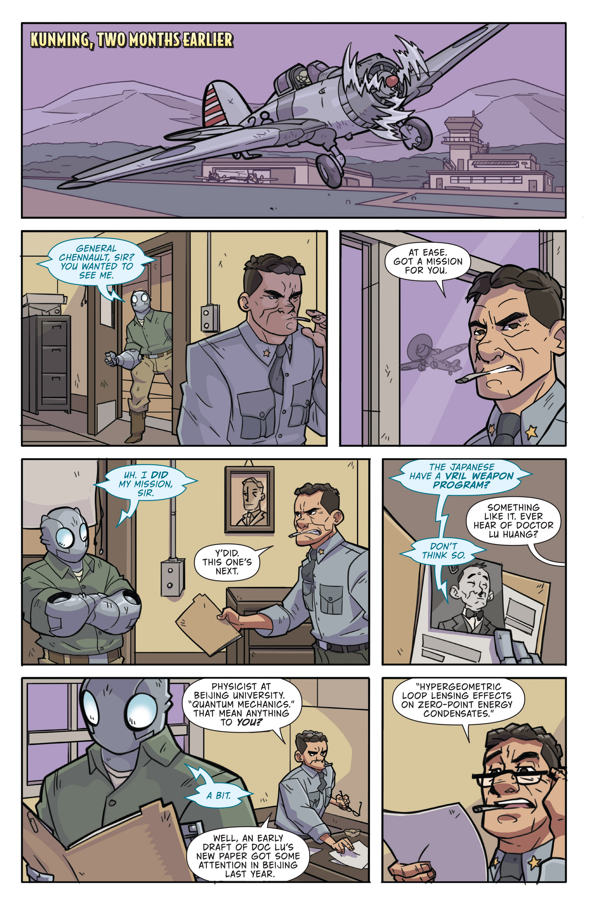 Read online Atomic Robo and the Temple of Od comic -  Issue #1 - 6