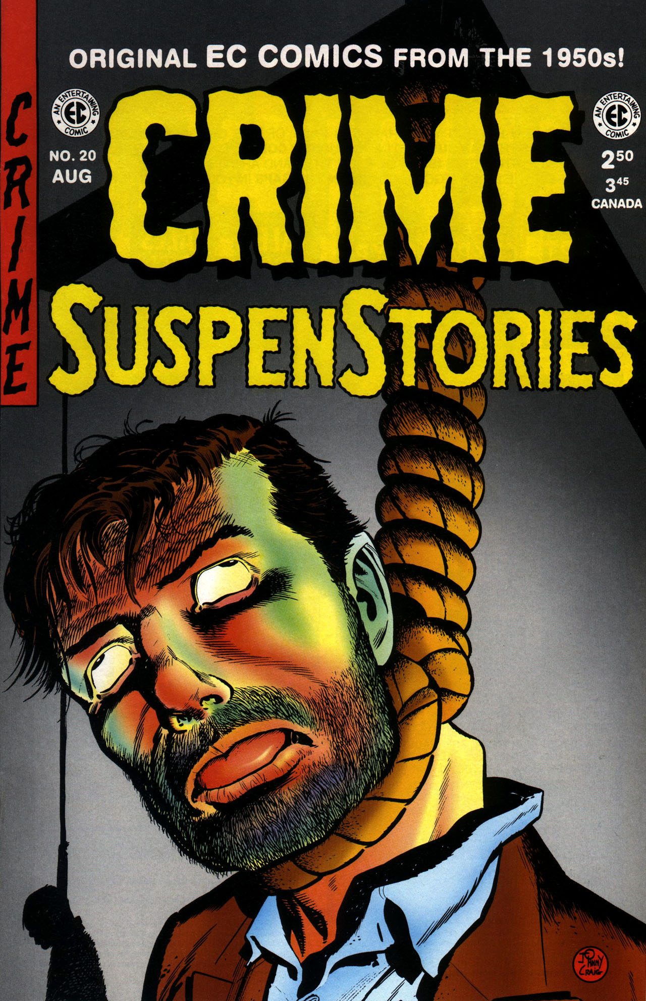 Crime SuspenStories 20 Page 1