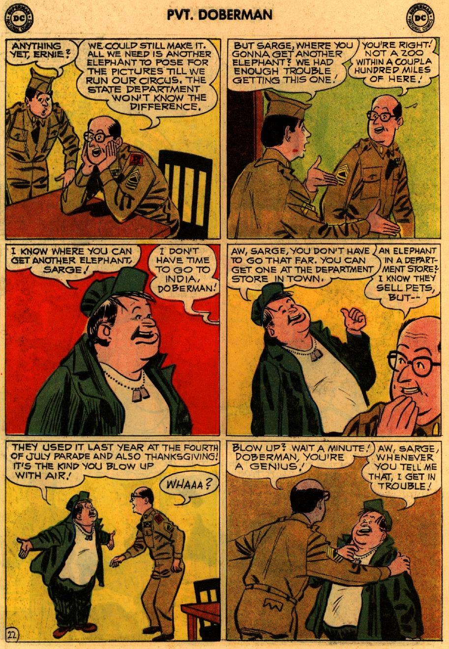 Sgt. Bilko's Pvt. Doberman issue 9 - Page 28