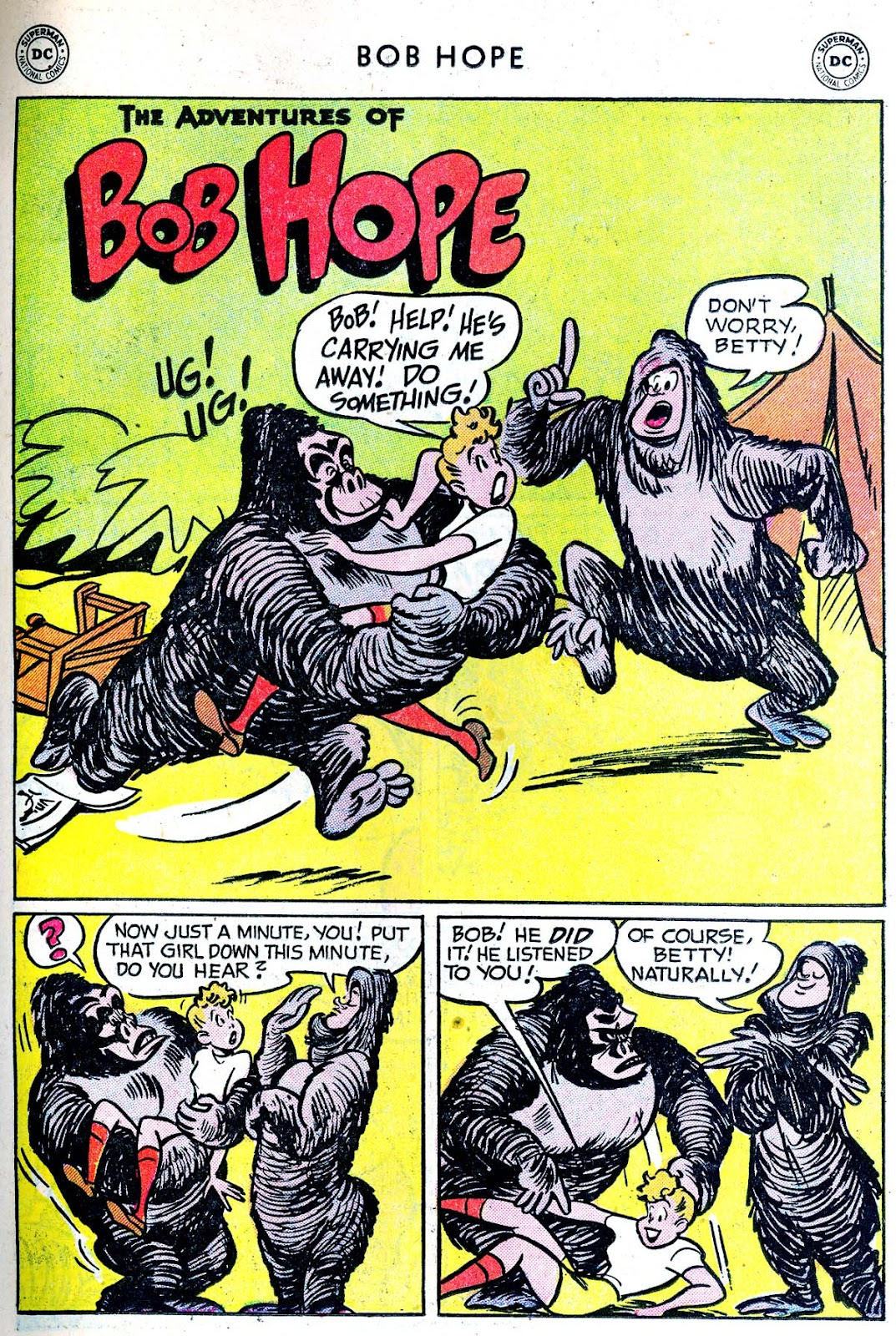 The Adventures of Bob Hope issue 33 - Page 15