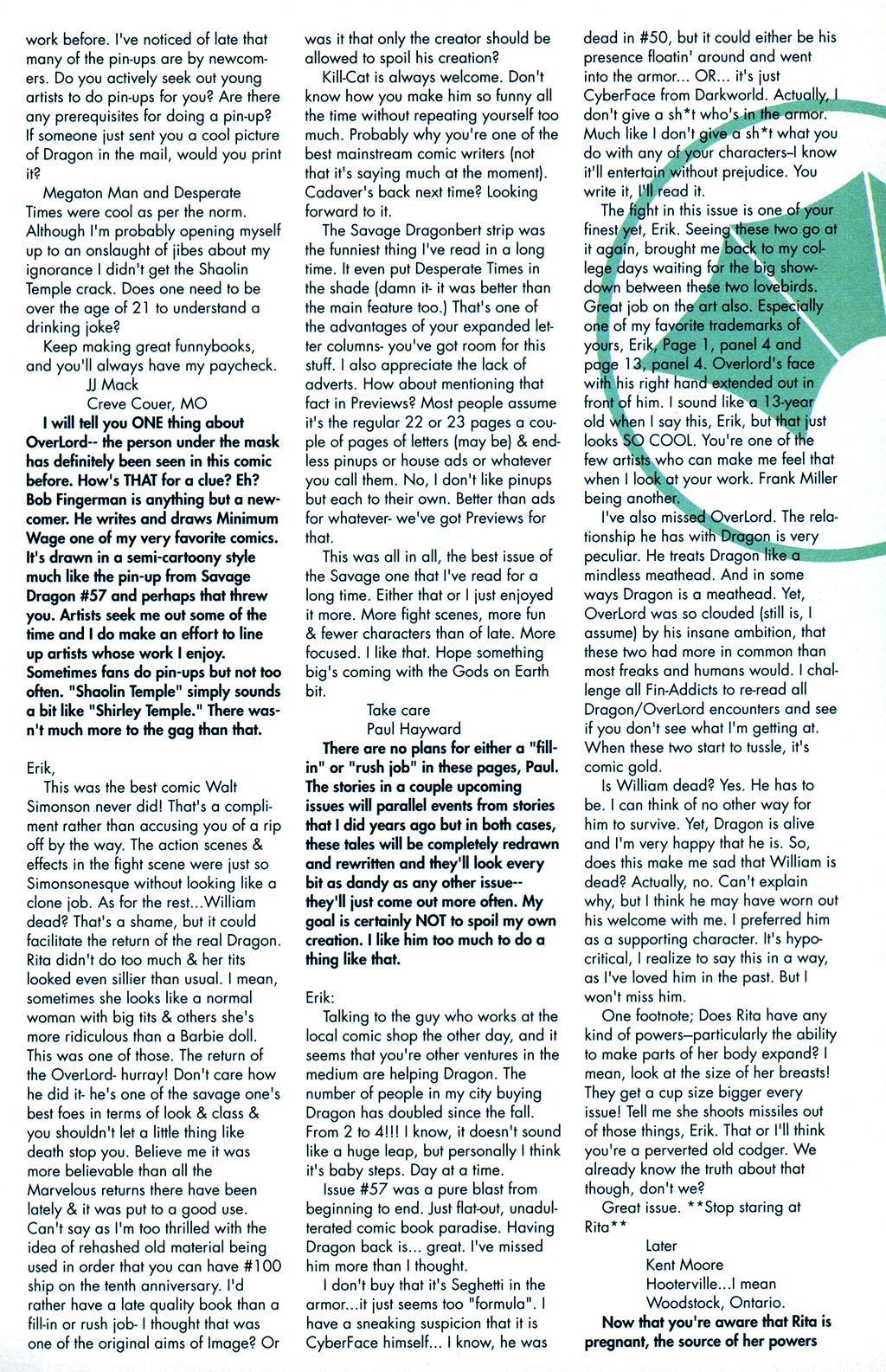 The Savage Dragon (1993) Issue #59 #62 - English 25